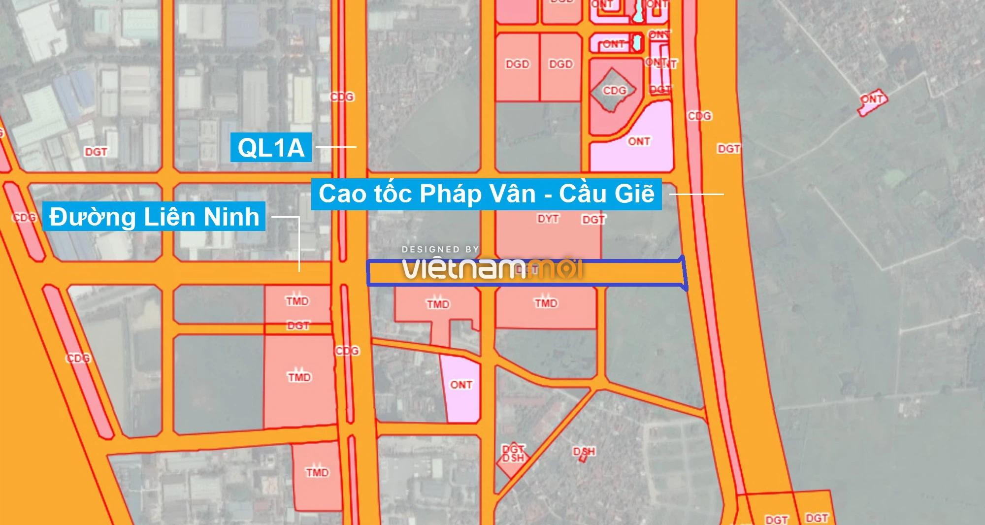 Những khu đất sắp thu hồi để mở đường ở xã Liên Ninh, Thanh Trì, Hà Nội (phần 1) - Ảnh 1.
