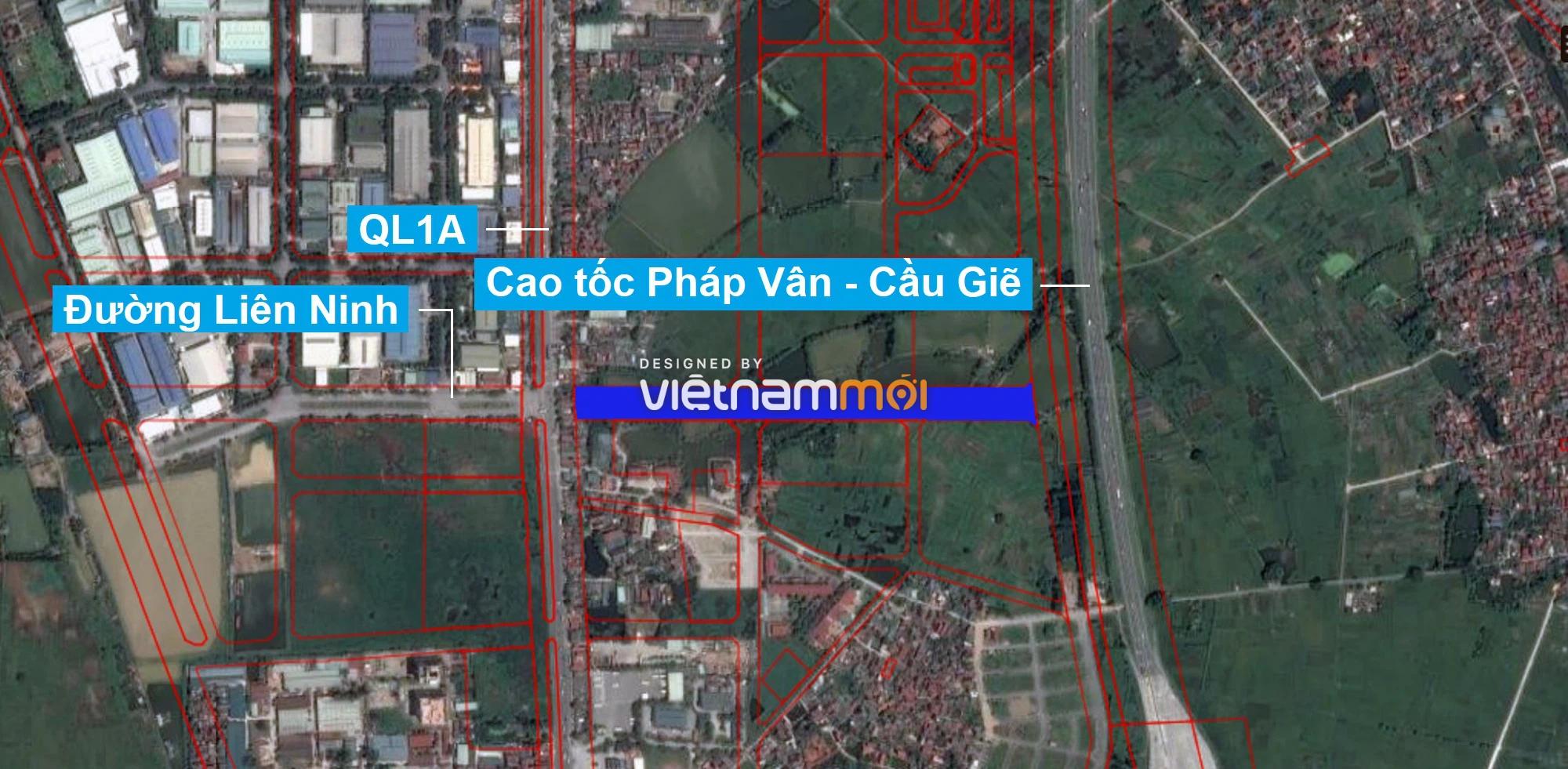 Những khu đất sắp thu hồi để mở đường ở xã Liên Ninh, Thanh Trì, Hà Nội (phần 1) - Ảnh 2.