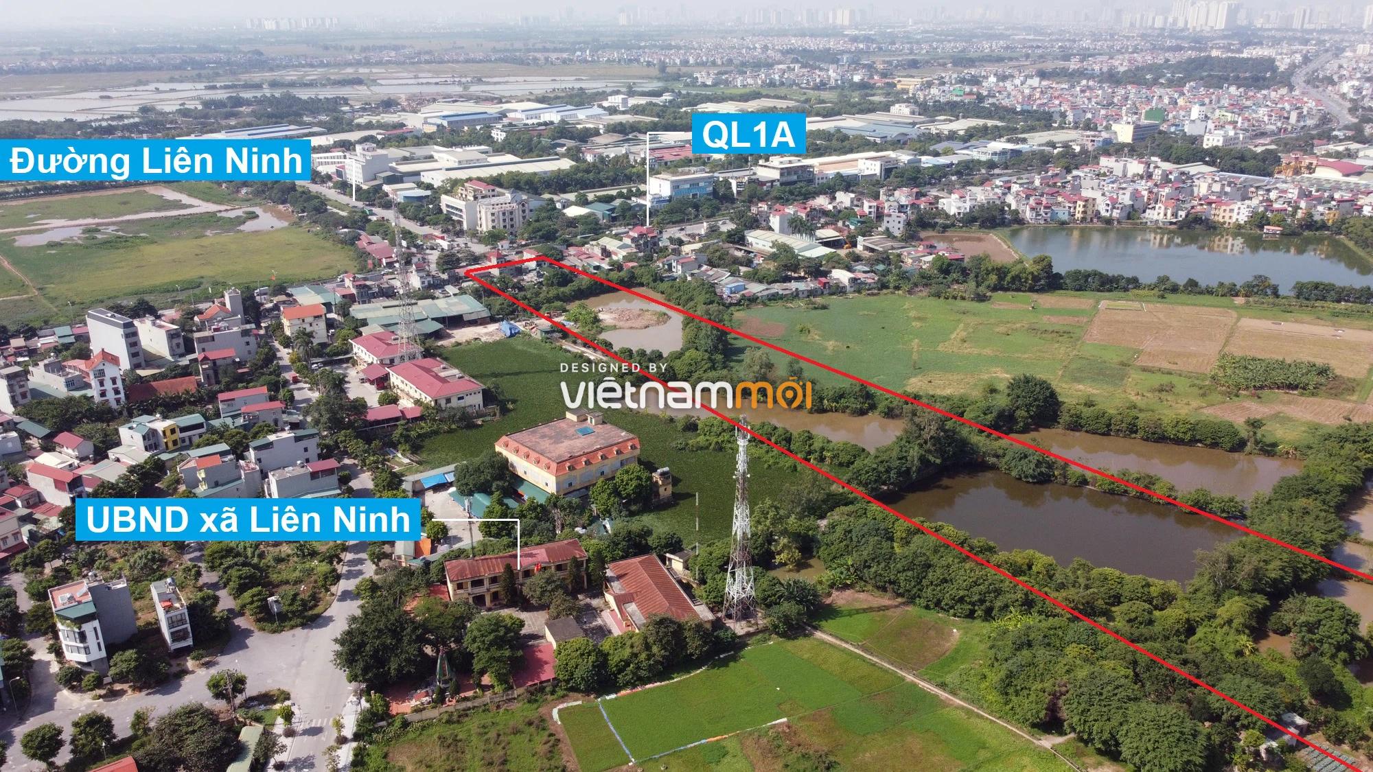 Những khu đất sắp thu hồi để mở đường ở xã Liên Ninh, Thanh Trì, Hà Nội (phần 1) - Ảnh 3.
