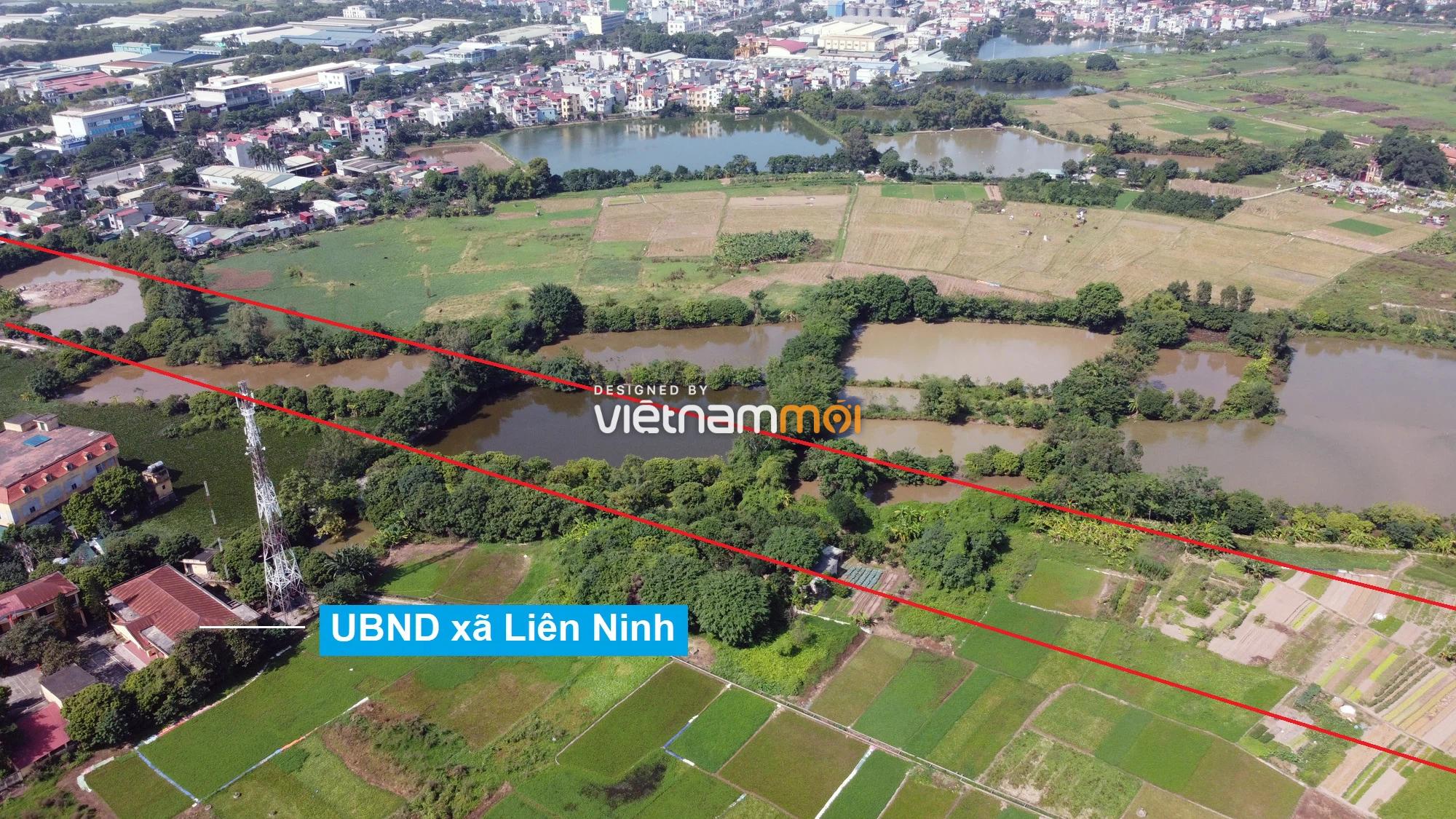 Những khu đất sắp thu hồi để mở đường ở xã Liên Ninh, Thanh Trì, Hà Nội (phần 1) - Ảnh 4.