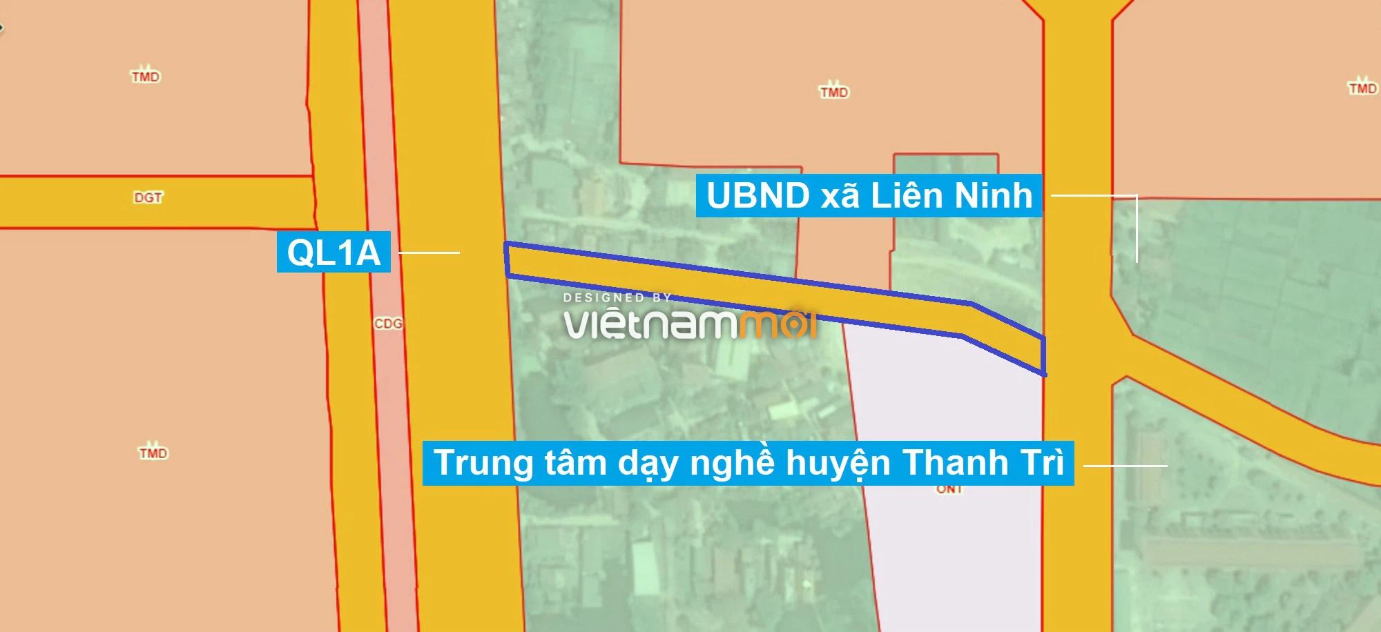 Những khu đất sắp thu hồi để mở đường ở xã Liên Ninh, Thanh Trì, Hà Nội (phần 1) - Ảnh 7.