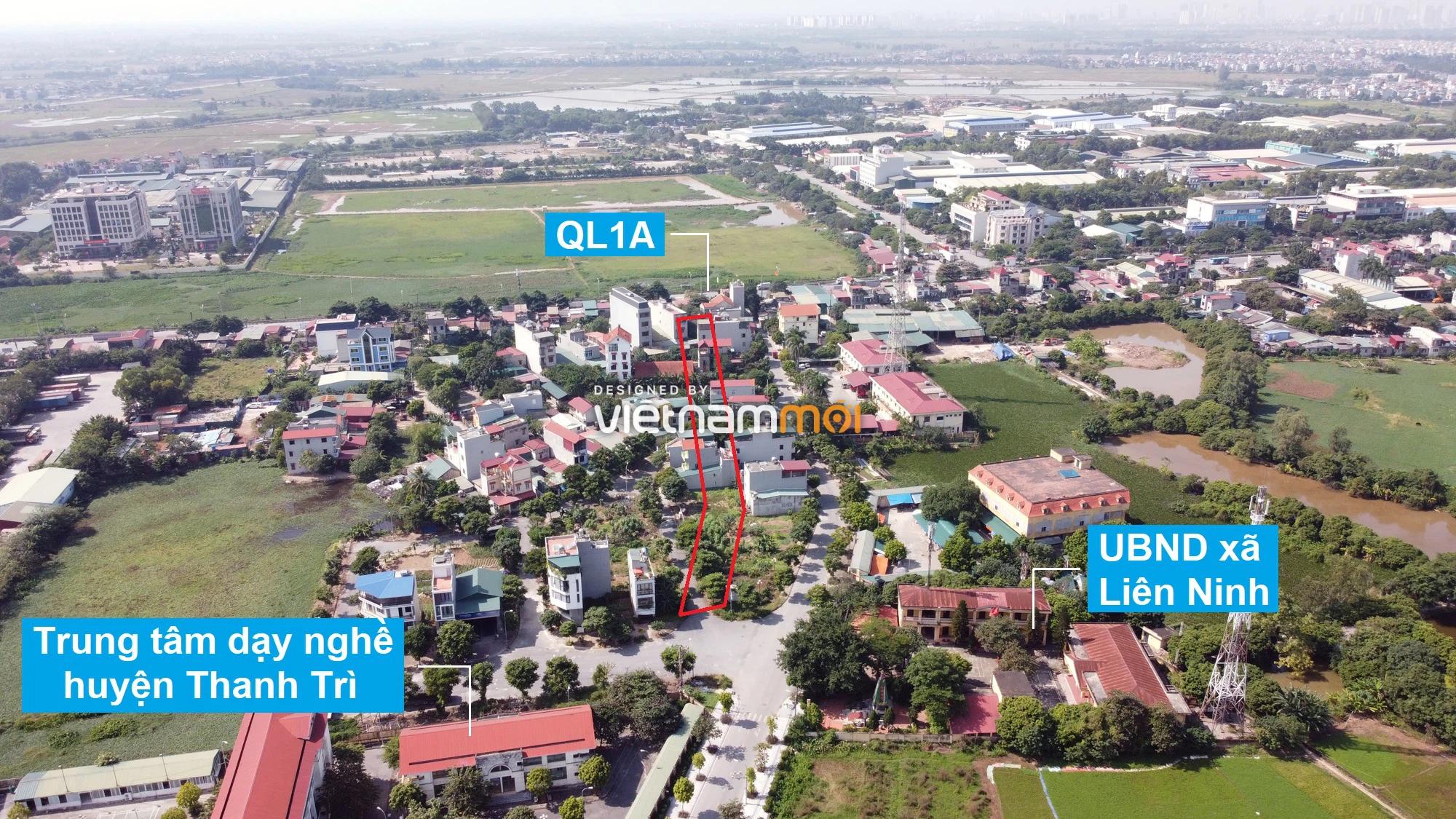 Những khu đất sắp thu hồi để mở đường ở xã Liên Ninh, Thanh Trì, Hà Nội (phần 1) - Ảnh 11.