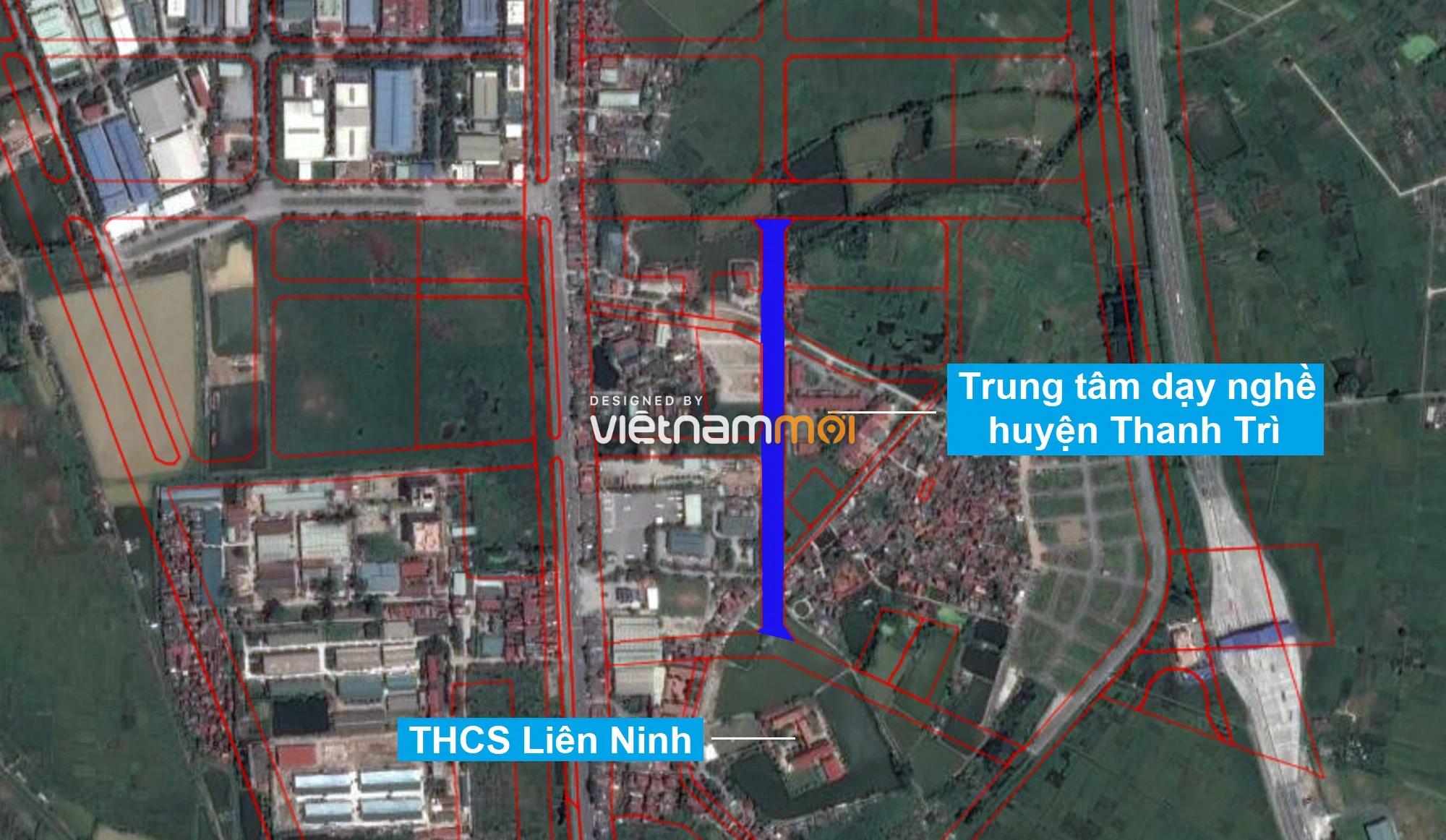 Những khu đất sắp thu hồi để mở đường ở xã Liên Ninh, Thanh Trì, Hà Nội (phần 1) - Ảnh 13.