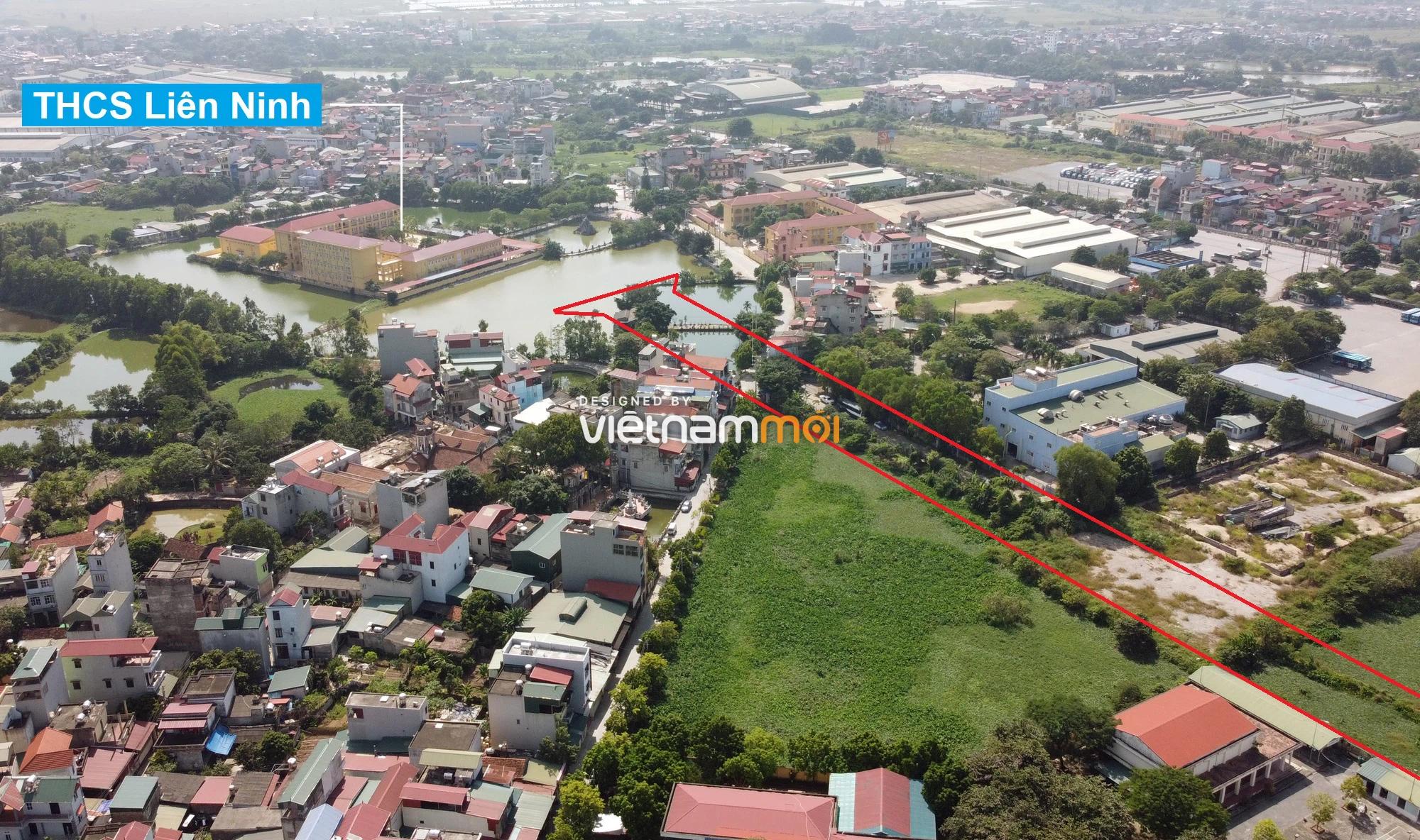 Những khu đất sắp thu hồi để mở đường ở xã Liên Ninh, Thanh Trì, Hà Nội (phần 1) - Ảnh 17.