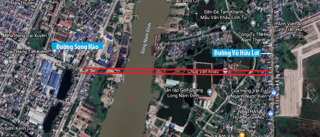 Nam Định chủ trương đầu tư 2 dự án cầu, đường nghìn tỷ - Ảnh 2.