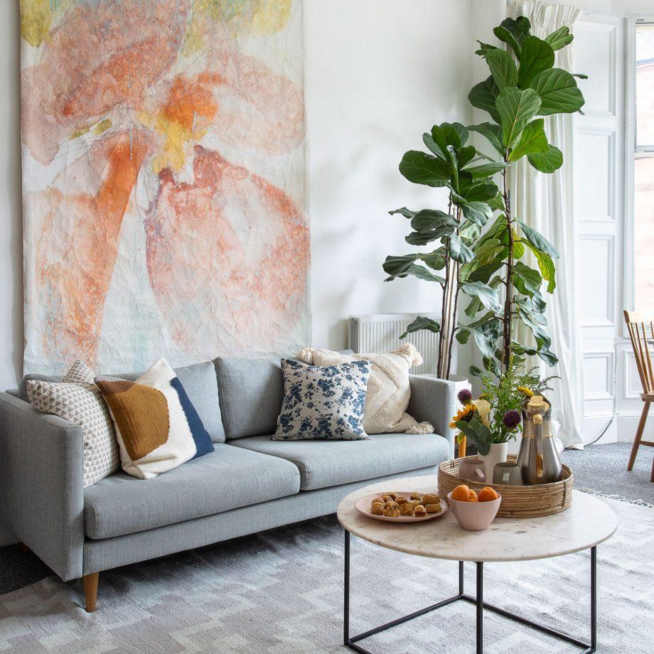Top 5 xu hướng phòng khách 'lên ngôi' trong năm 2021 - Ảnh 1.