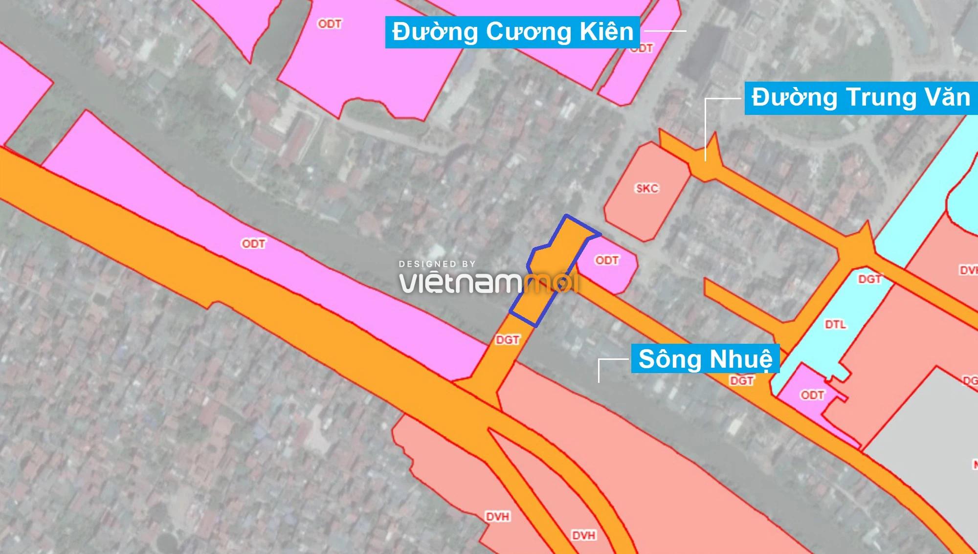 Những khu đất sắp thu hồi để mở đường ở phường Trung Văn, Nam Từ Liêm, Hà Nội (phần 1) - Ảnh 1.