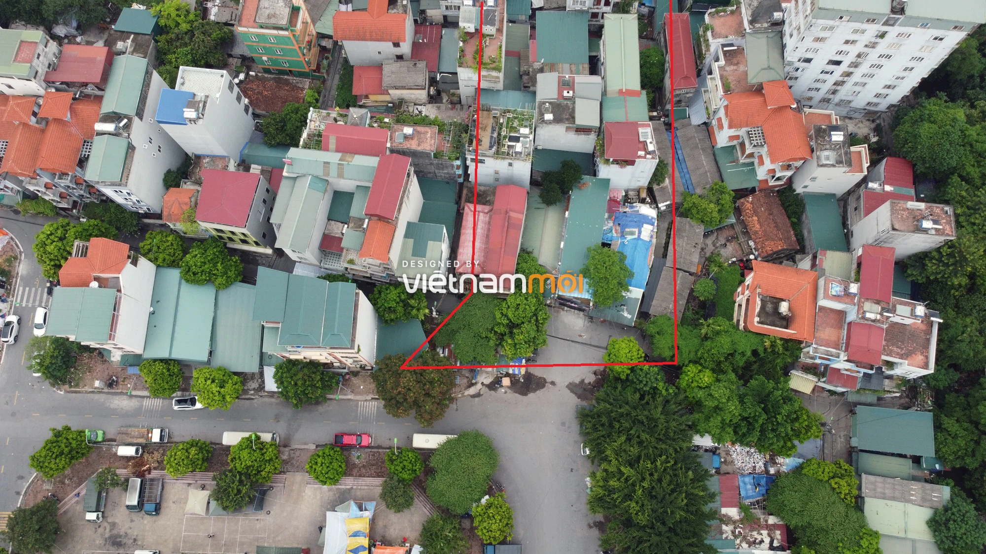 Những khu đất sắp thu hồi để mở đường ở phường Trung Văn, Nam Từ Liêm, Hà Nội (phần 1) - Ảnh 4.