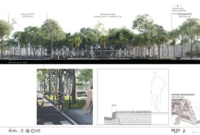 Đề xuất mở rộng không gian công cộng xung quanh hồ Hoàn Kiếm - Ảnh 1.