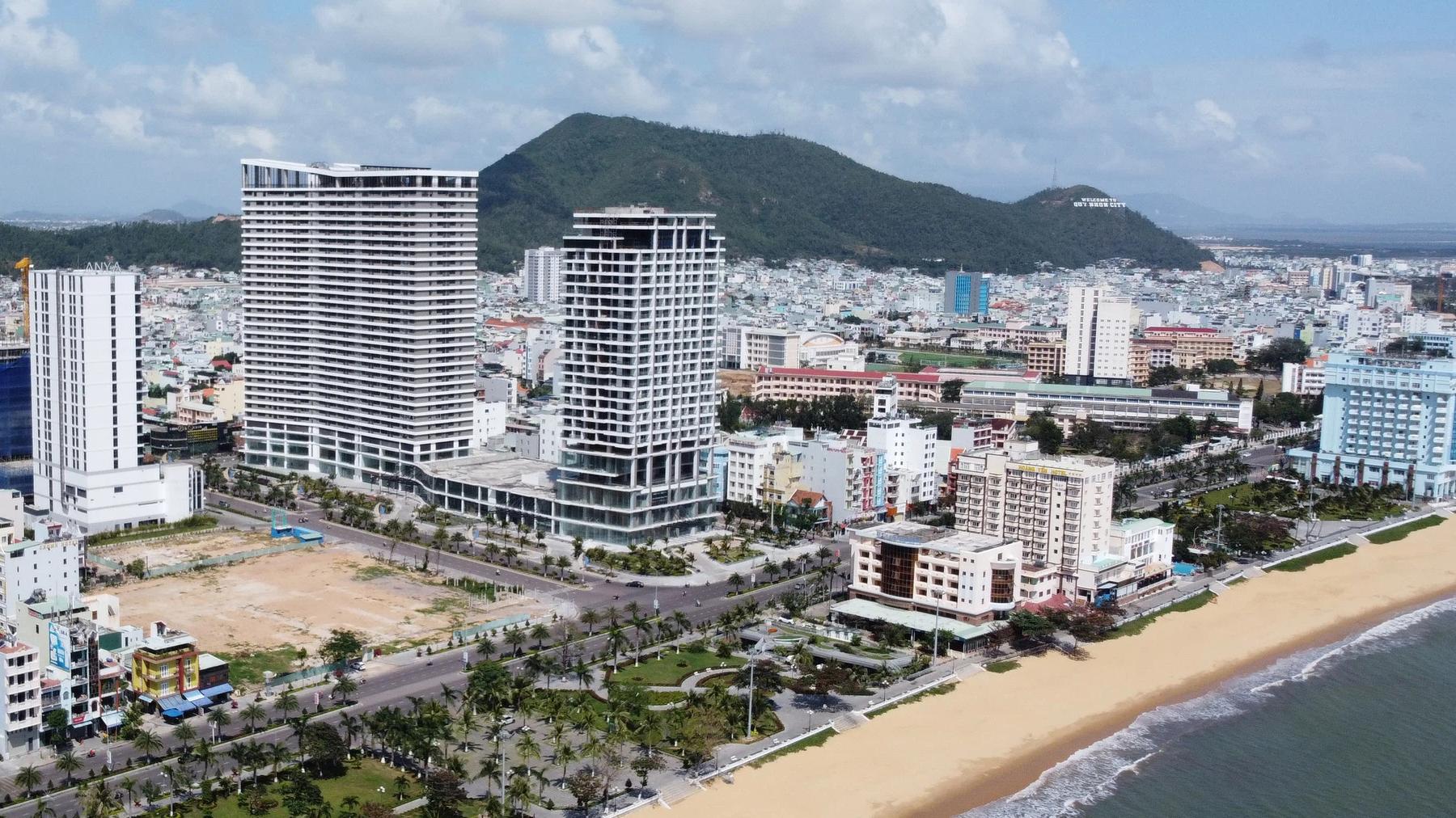 Bình Định điều chỉnh chủ trương đầu tư dự án FLC Sea Tower Quy Nhơn - Ảnh 1.