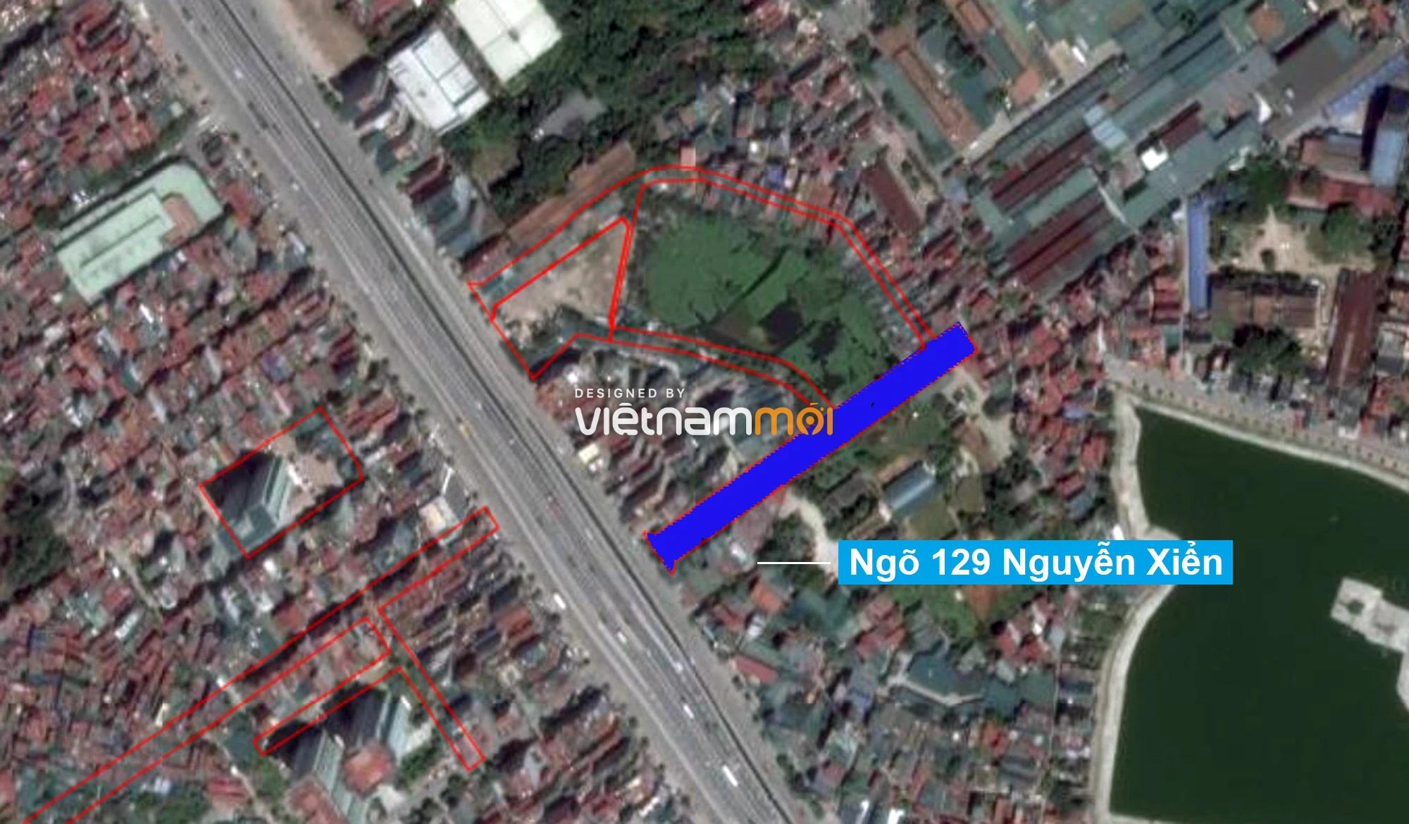 Những khu đất sắp thu hồi để mở đường ở quận Thanh Xuân, Hà Nội (phần 2) - Ảnh 2.