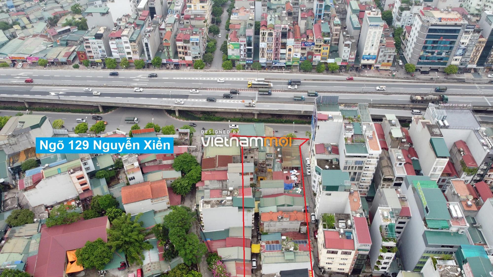 Những khu đất sắp thu hồi để mở đường ở quận Thanh Xuân, Hà Nội (phần 2) - Ảnh 3.