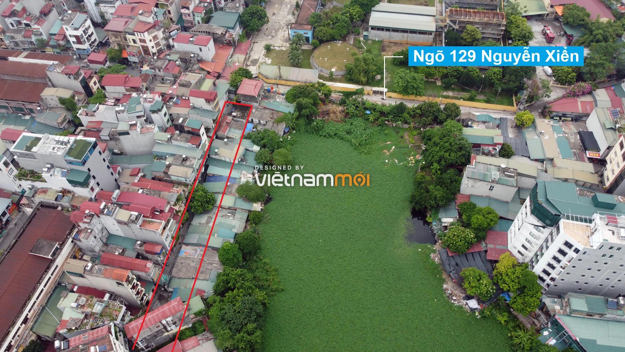 Những khu đất sắp thu hồi để mở đường ở quận Thanh Xuân, Hà Nội (phần 1) - Ảnh 12.