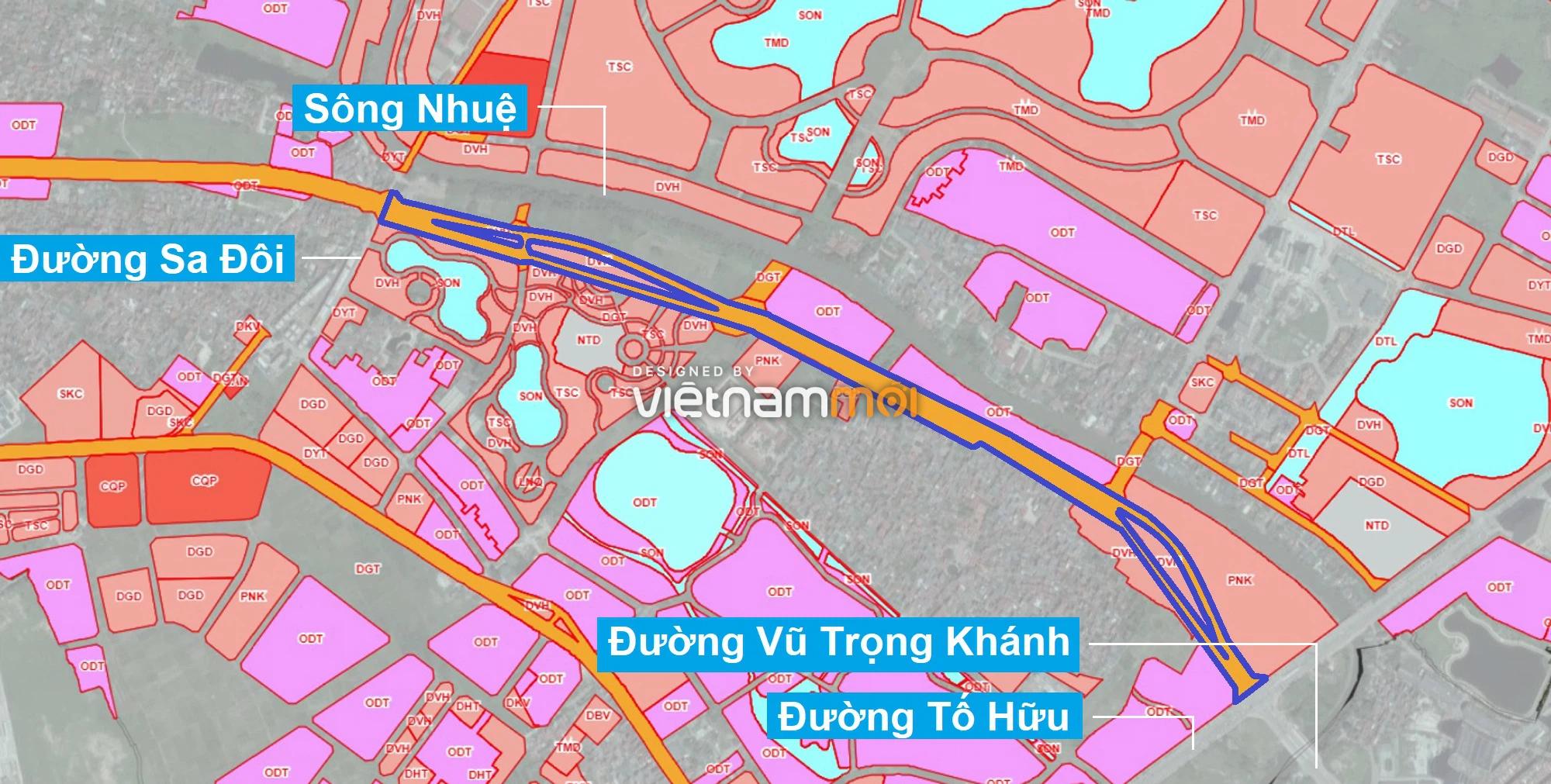 Những khu đất sắp thu hồi để mở đường ở phường Đại Mỗ, Nam Từ Liêm, Hà Nội (phần 2) - Ảnh 1.