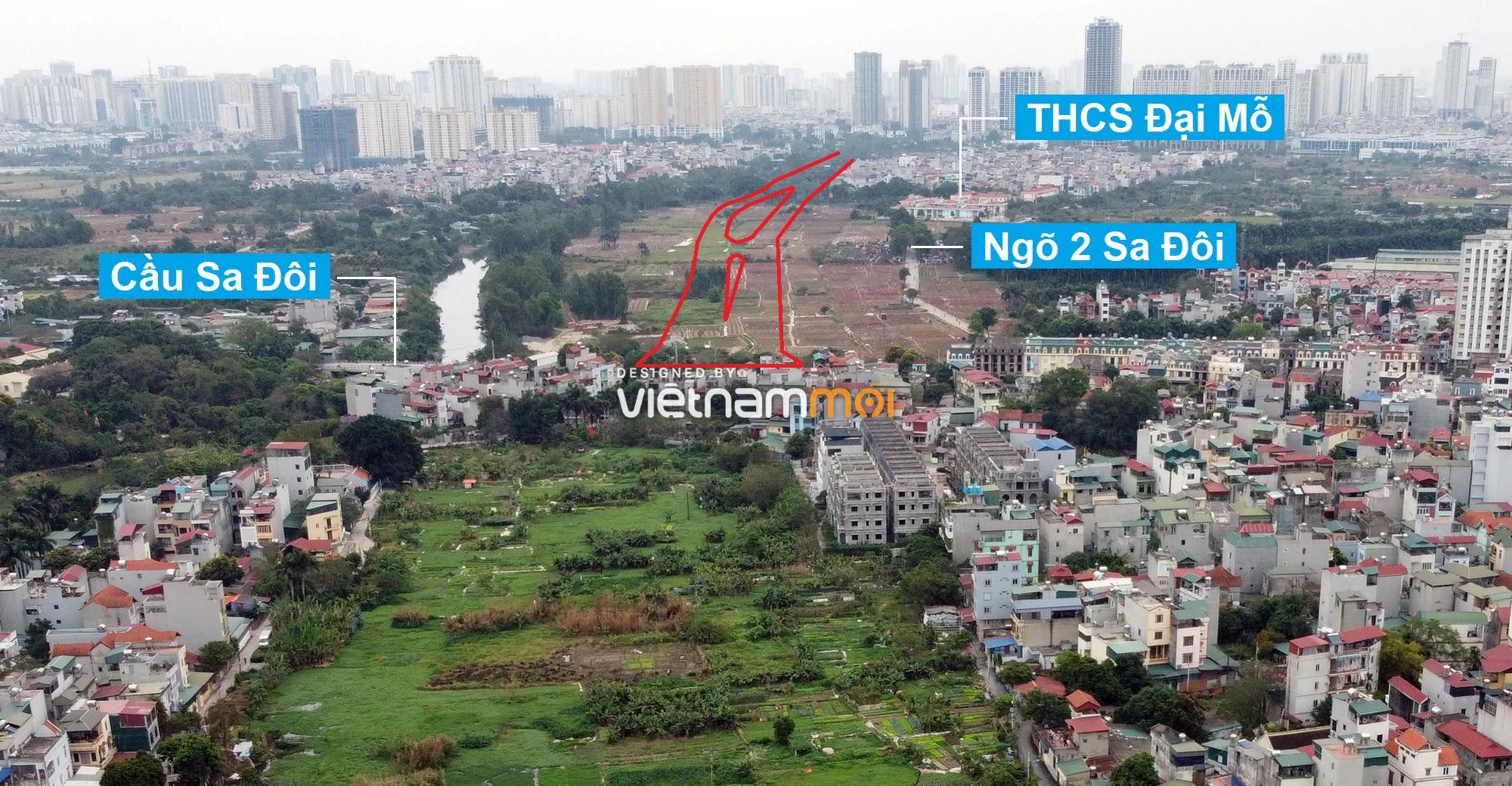 Những khu đất sắp thu hồi để mở đường ở phường Đại Mỗ, Nam Từ Liêm, Hà Nội (phần 2) - Ảnh 3.