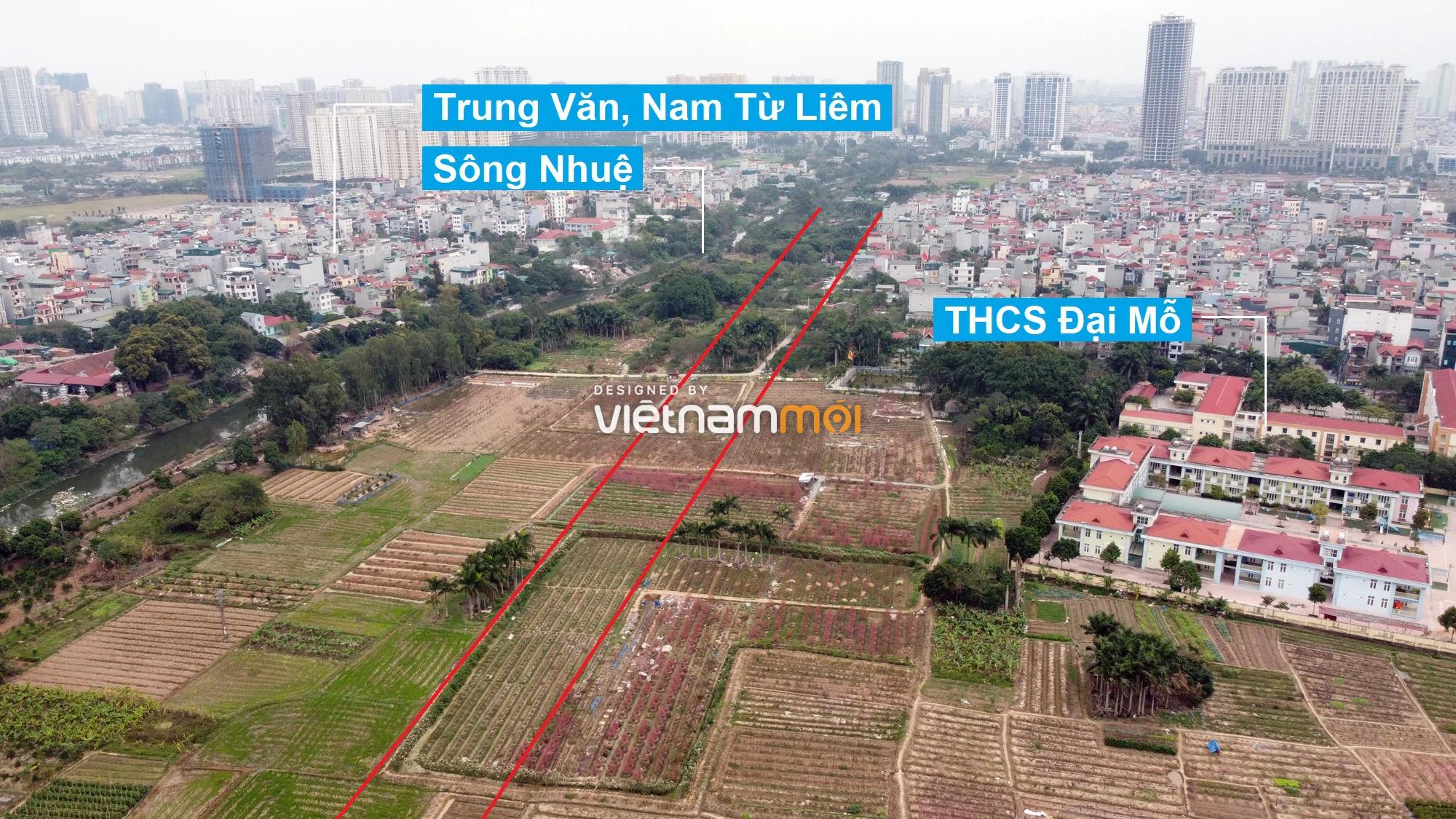 Những khu đất sắp thu hồi để mở đường ở phường Đại Mỗ, Nam Từ Liêm, Hà Nội (phần 2) - Ảnh 5.