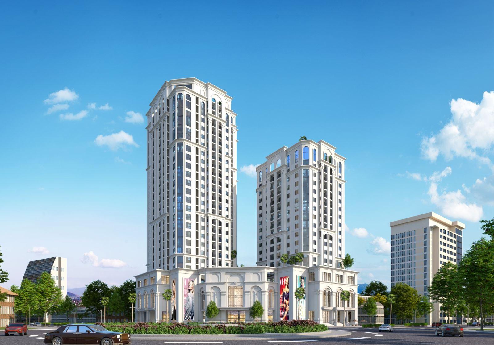 Tái khởi động dự án tháp đôi 680 tỷ đồng trên 'đất vàng' TP Thái Nguyên - Ảnh 1.