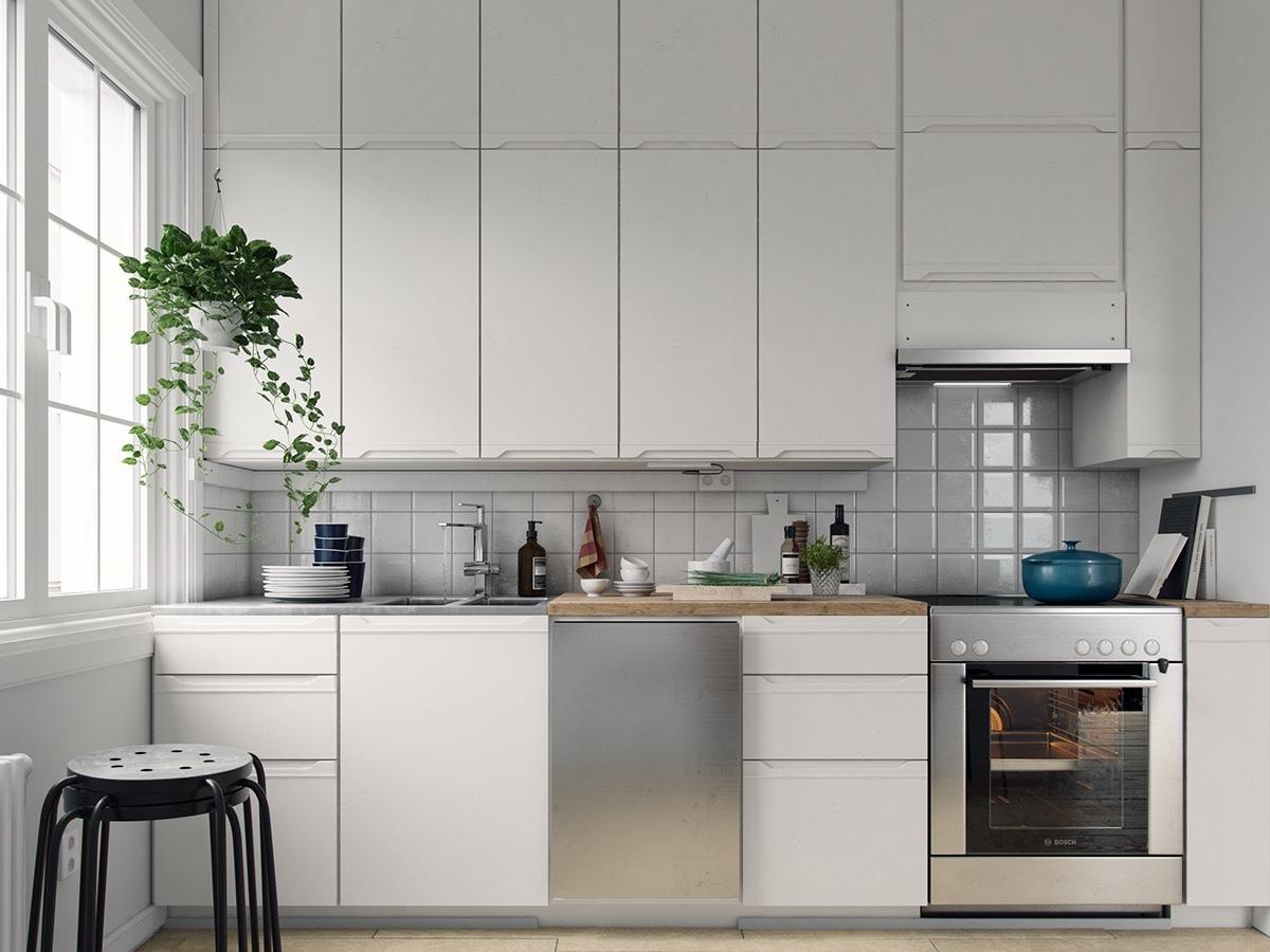 Gợi ý thiết kế nhà bếp tiết kiệm chi phí theo phong cách hiện đại - Ảnh 1.