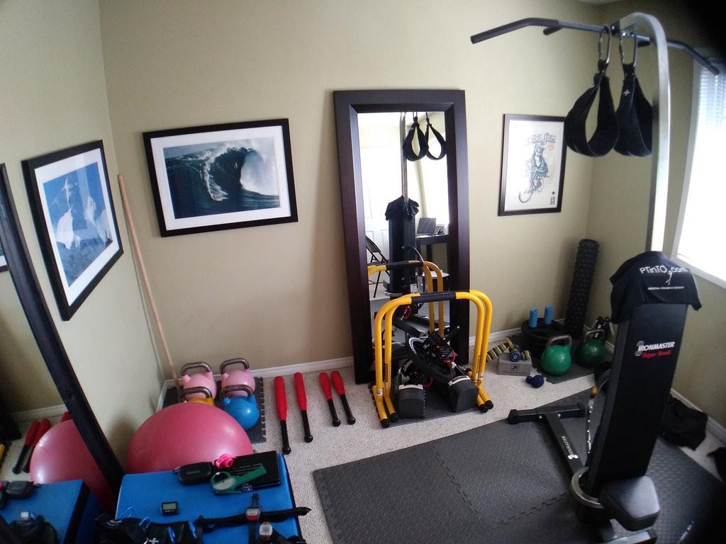Mách bạn cách thiết kế phòng tập thể dục tại nhà hữu ích trong mùa dịch - Ảnh 3.