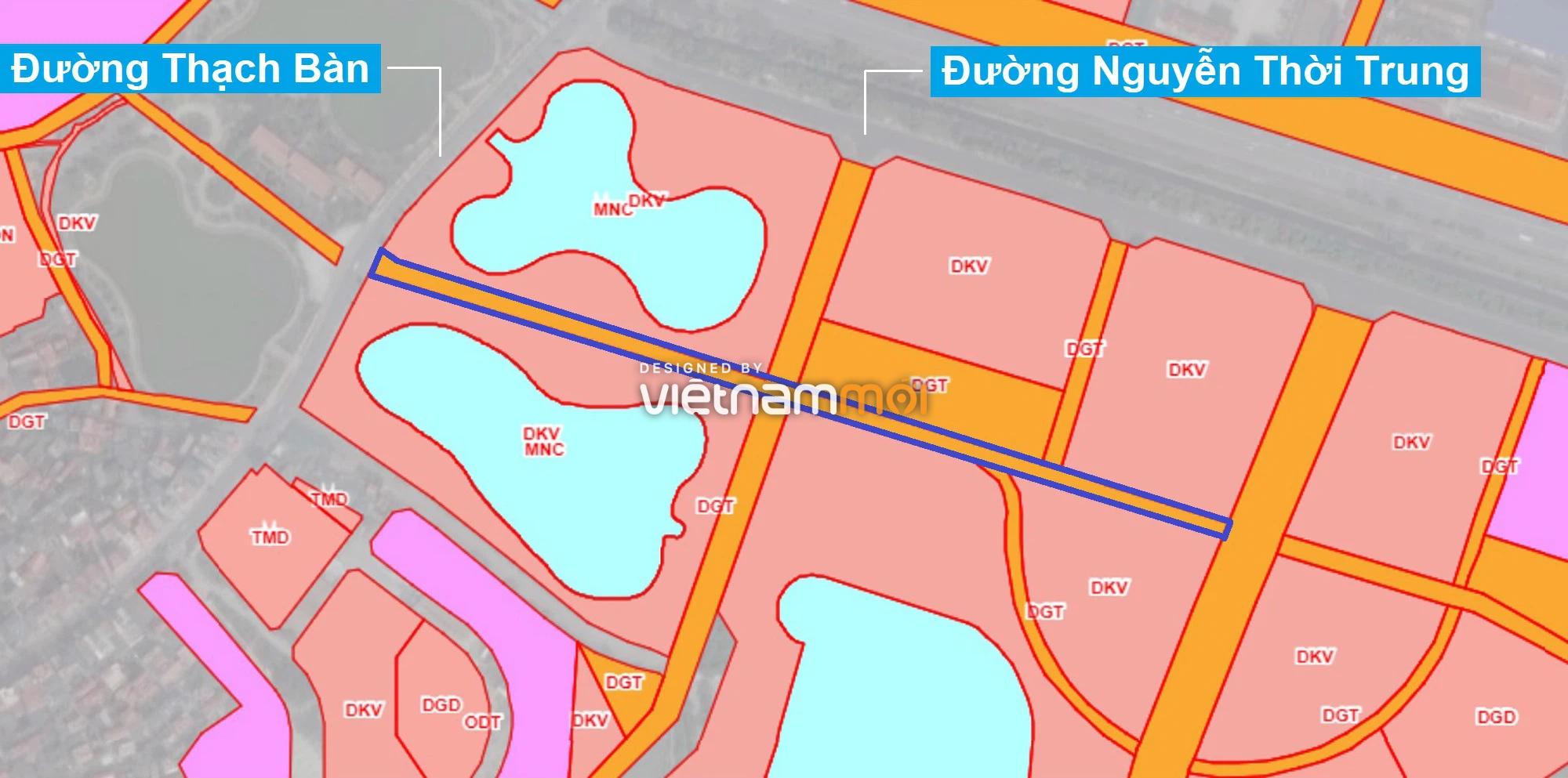 Những khu đất sắp thu hồi để mở đường ở phường Thạch Bàn, Long Biên, Hà Nội (phần 4) - Ảnh 1.