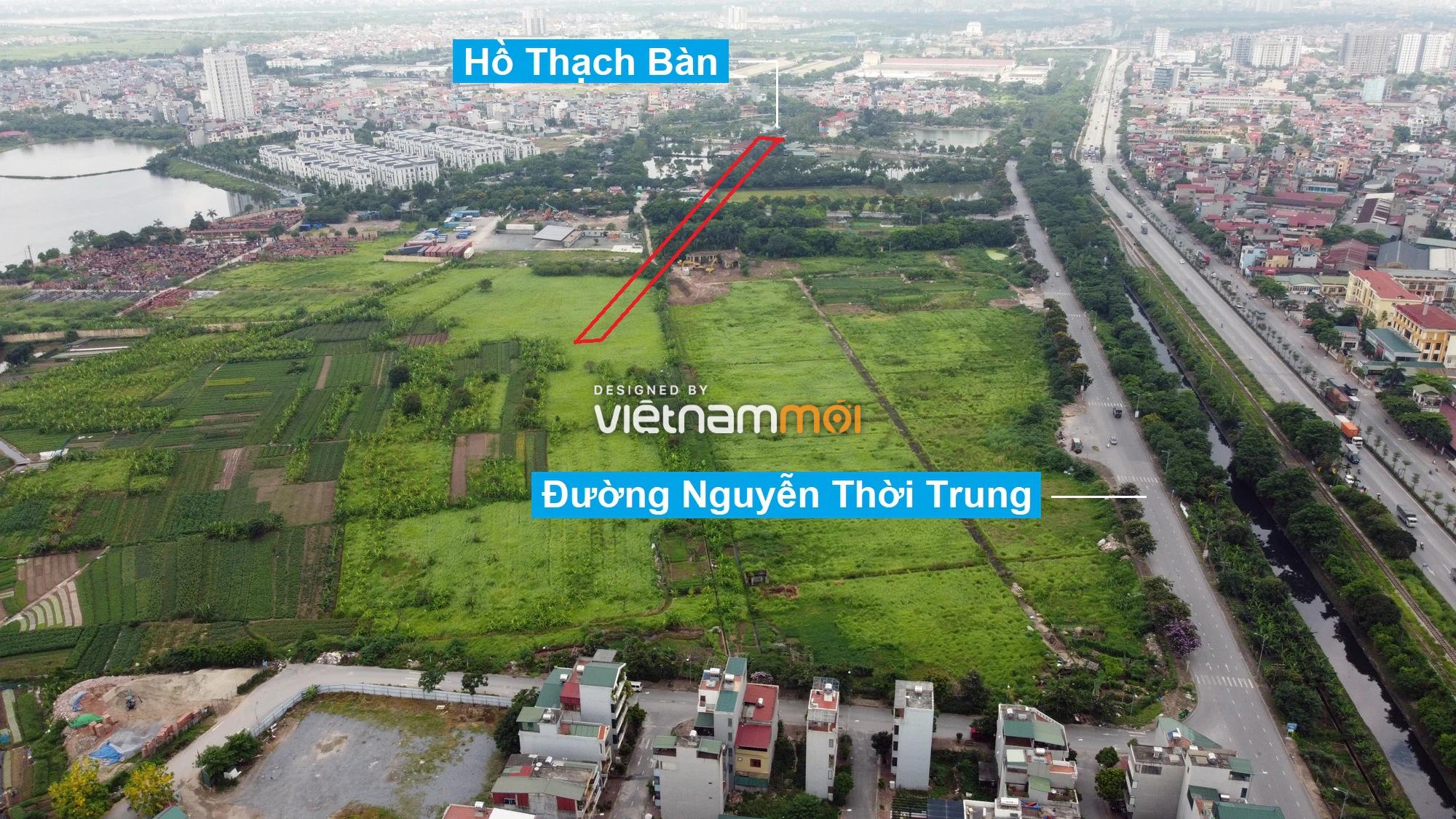 Những khu đất sắp thu hồi để mở đường ở phường Thạch Bàn, Long Biên, Hà Nội (phần 4) - Ảnh 6.