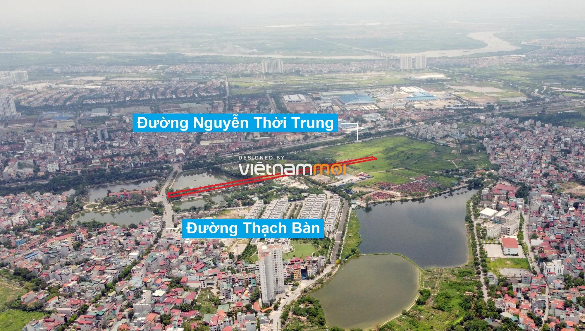 Những khu đất sắp thu hồi để mở đường ở phường Thạch Bàn, Long Biên, Hà Nội (phần 4) - Ảnh 7.