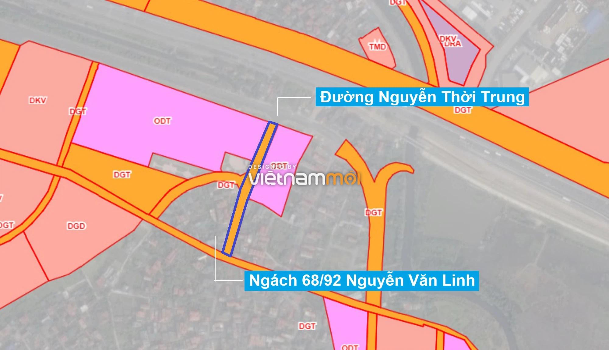 Những khu đất sắp thu hồi để mở đường ở phường Thạch Bàn, Long Biên, Hà Nội (phần 4) - Ảnh 8.