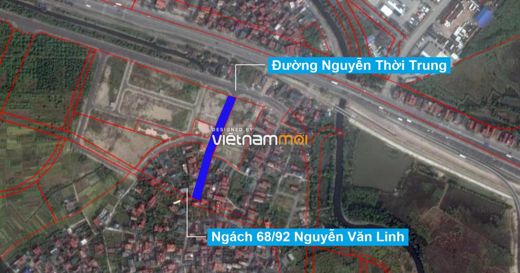 Những khu đất sắp thu hồi để mở đường ở phường Thạch Bàn, Long Biên, Hà Nội (phần 4) - Ảnh 9.