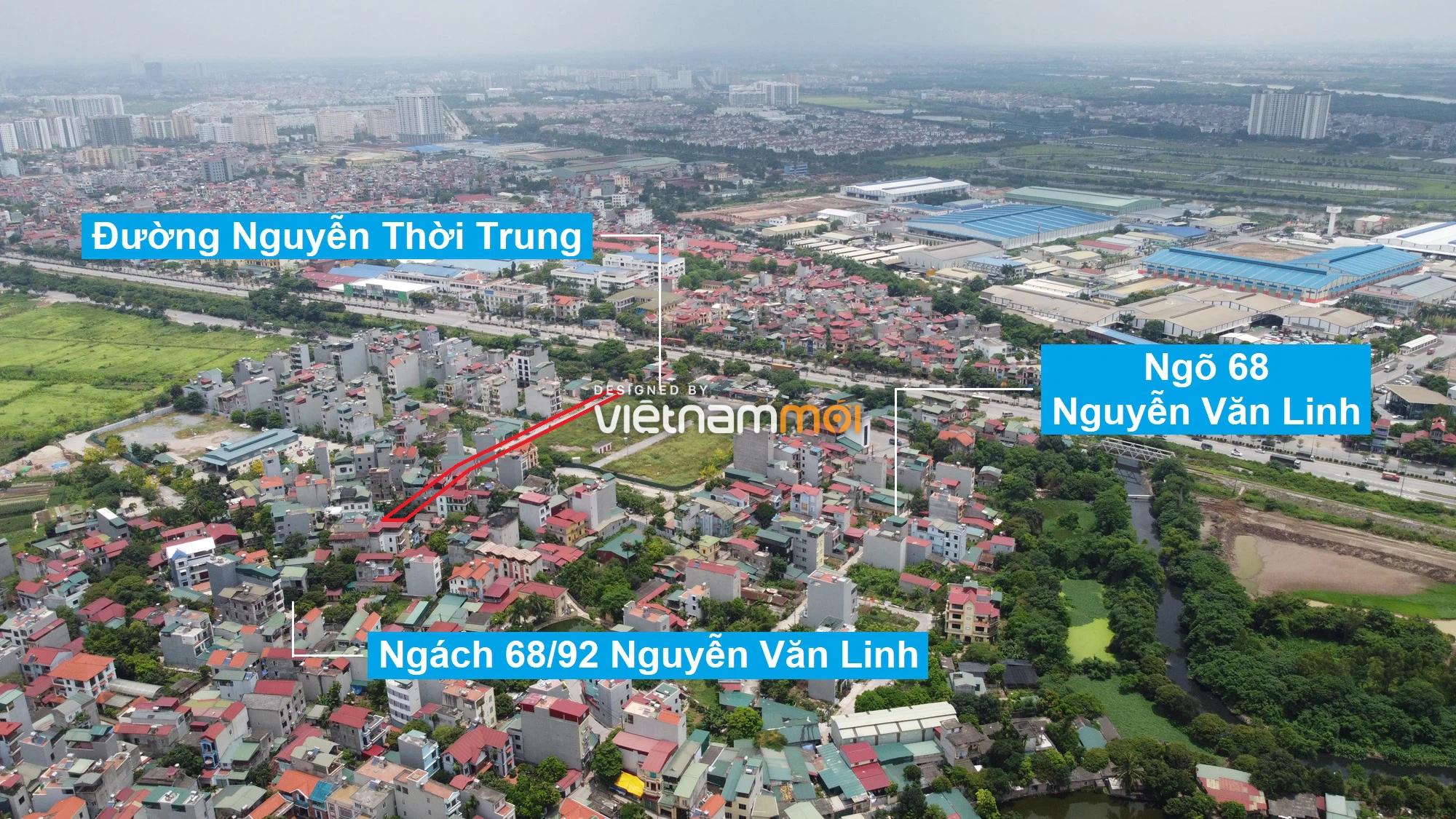 Những khu đất sắp thu hồi để mở đường ở phường Thạch Bàn, Long Biên, Hà Nội (phần 4) - Ảnh 12.