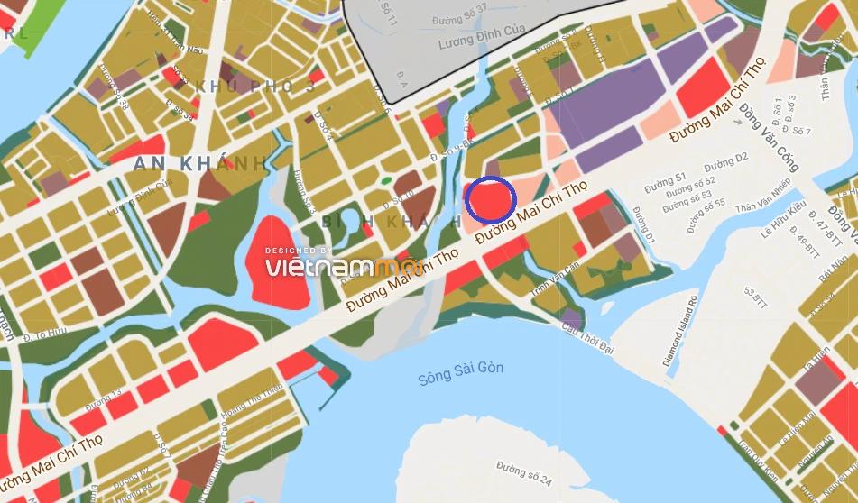Đất có quy hoạch ở phường Bình Khánh (cũ), quận 2, TP Thủ Đức - Ảnh 2.
