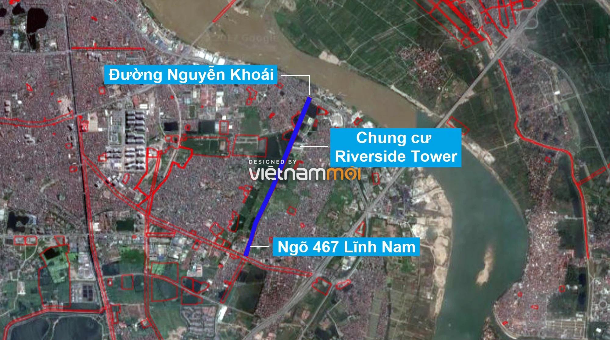 Những khu đất sắp thu hồi để mở đường ở quận Hoàng Mai, Hà Nội (phần 1) - Ảnh 2.