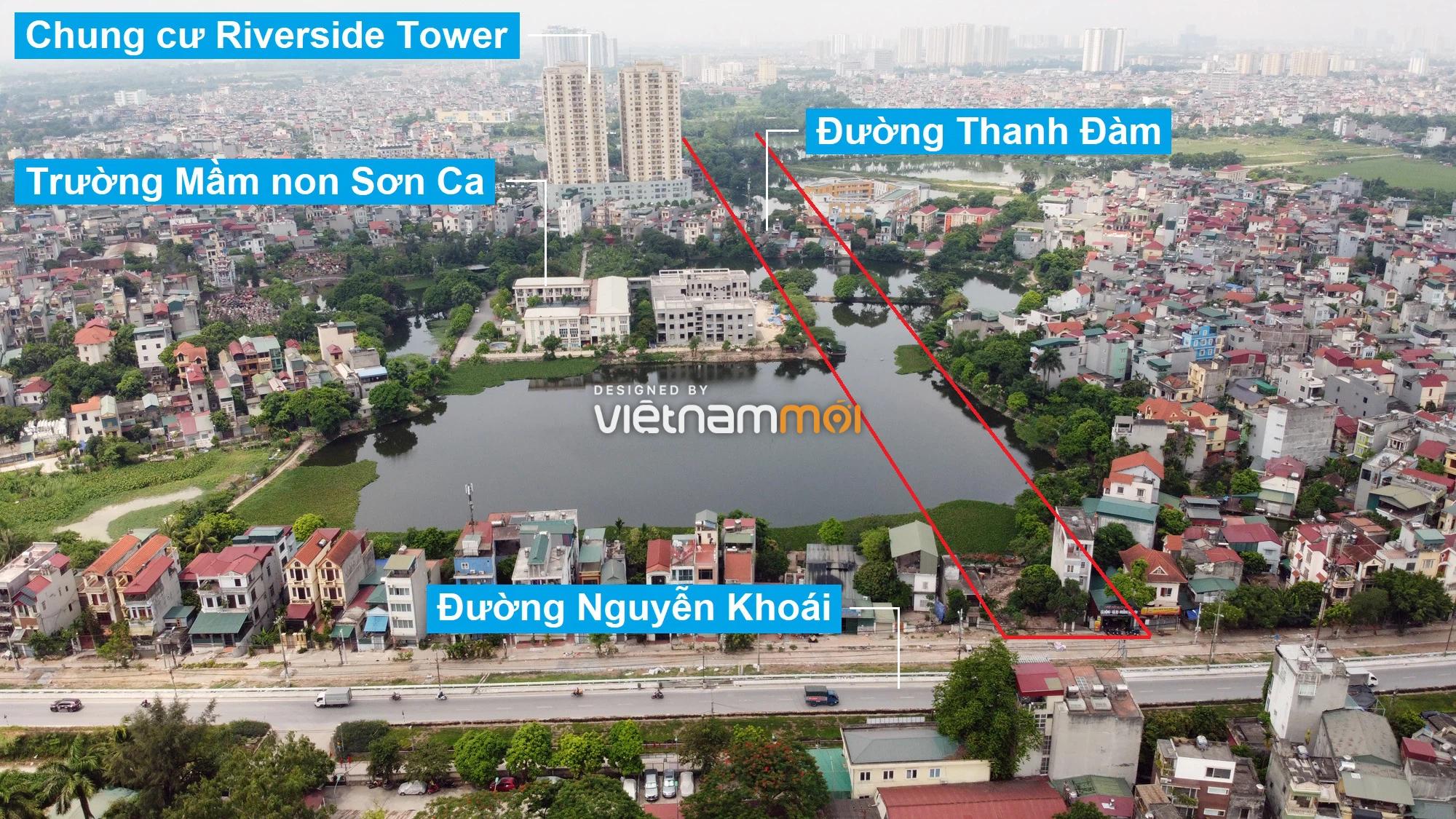 Những khu đất sắp thu hồi để mở đường ở quận Hoàng Mai, Hà Nội (phần 1) - Ảnh 3.
