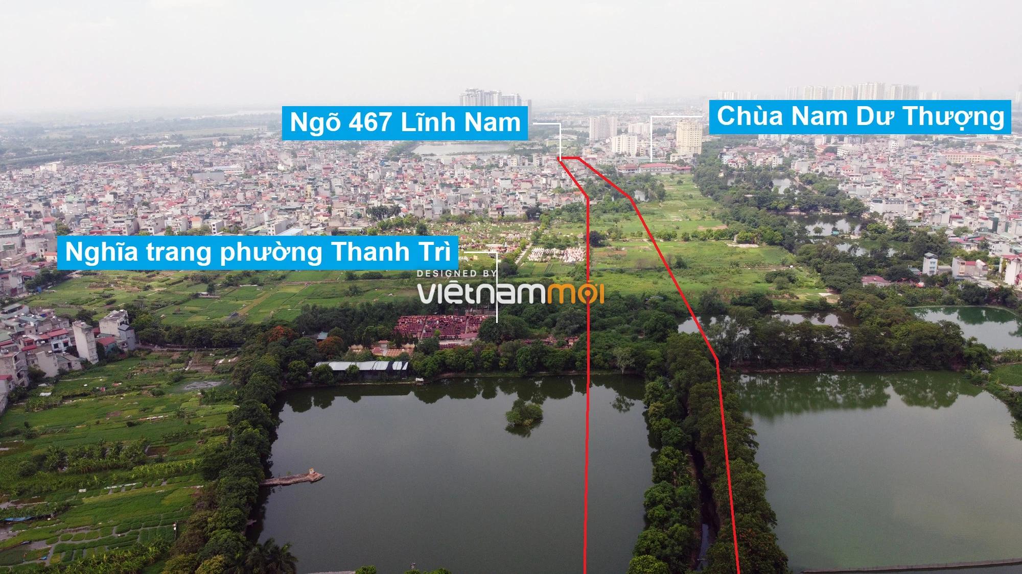 Những khu đất sắp thu hồi để mở đường ở quận Hoàng Mai, Hà Nội (phần 1) - Ảnh 5.