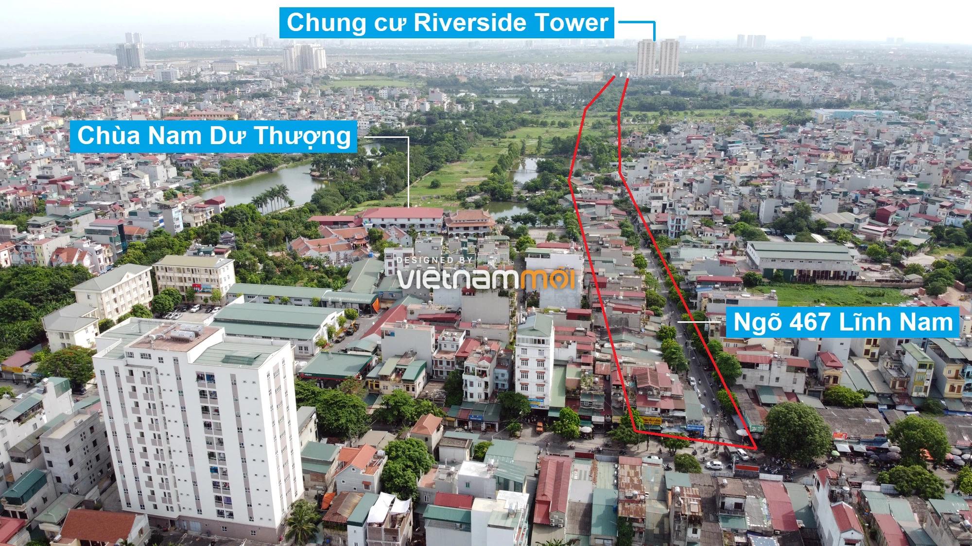Những khu đất sắp thu hồi để mở đường ở quận Hoàng Mai, Hà Nội (phần 1) - Ảnh 6.