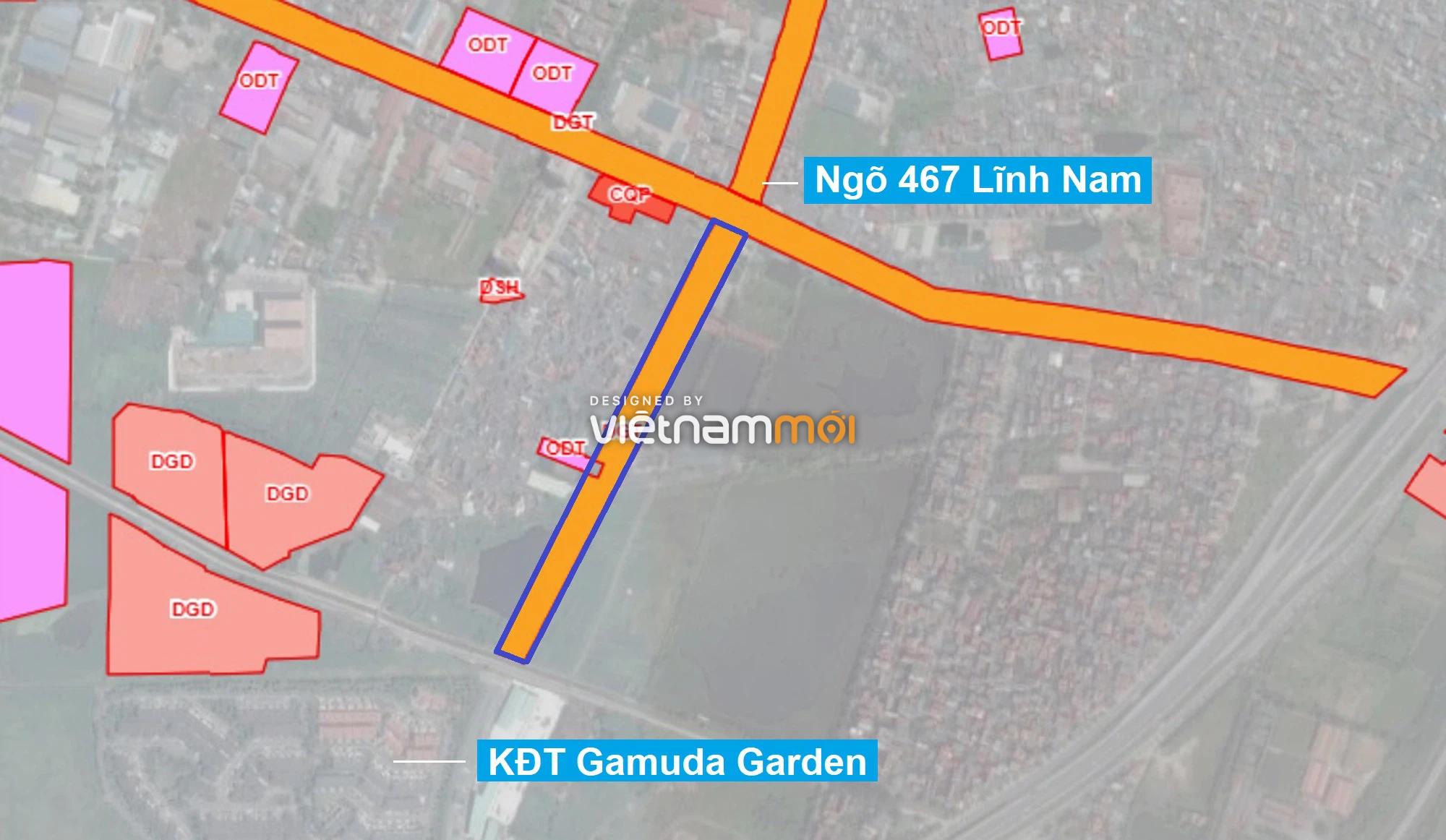 Những khu đất sắp thu hồi để mở đường ở quận Hoàng Mai, Hà Nội (phần 1) - Ảnh 8.