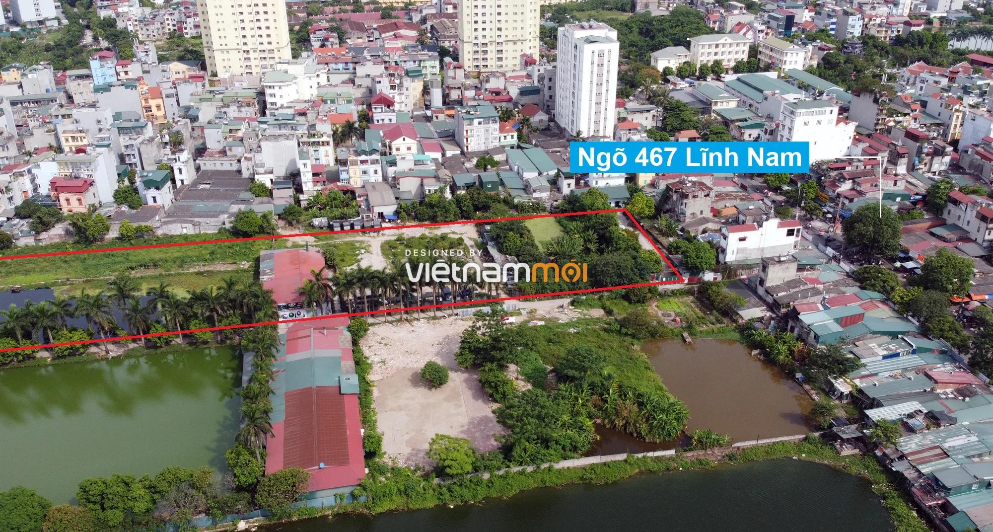 Những khu đất sắp thu hồi để mở đường ở quận Hoàng Mai, Hà Nội (phần 1) - Ảnh 10.