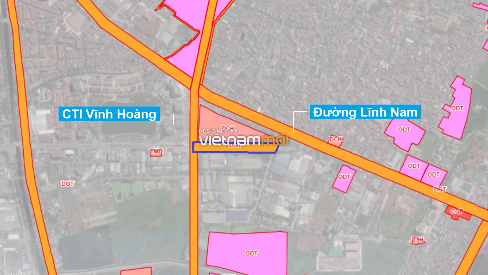 Những khu đất sắp thu hồi để mở đường ở quận Hoàng Mai, Hà Nội (phần 1) - Ảnh 14.
