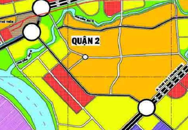 Bản đồ quy hoạch giao thông phường Bình Trưng Tây, quận 2, TP Thủ Đức - Ảnh 3.