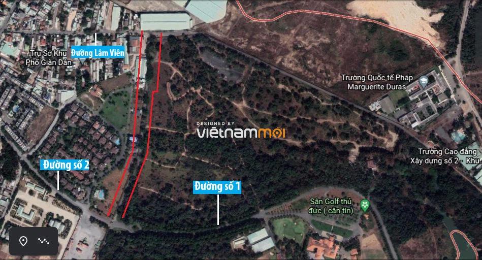 Đường sẽ mở theo quy hoạch ở phường Long Thạnh Mỹ, quận 9, Thủ Đức, TP HCM (phần 2) - Ảnh 2.