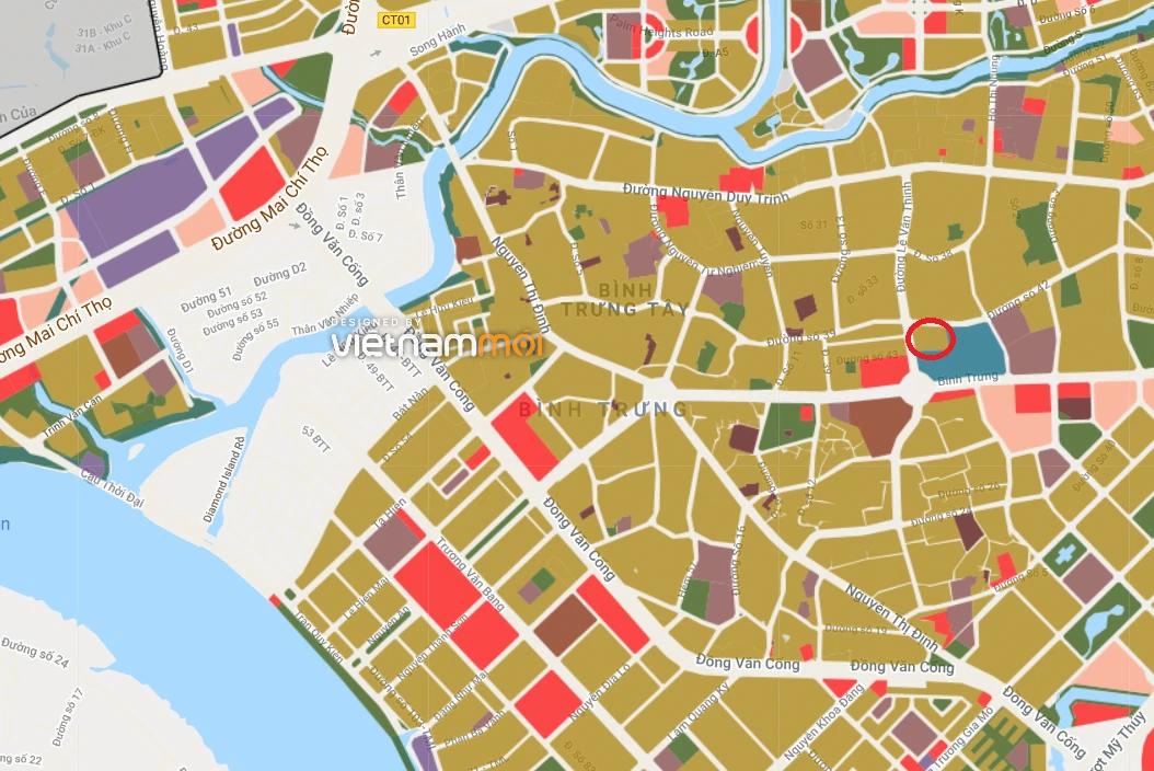 Đất có quy hoạch ở phường Bình Trưng Tây, quận 2, TP Thủ Đức - Ảnh 2.