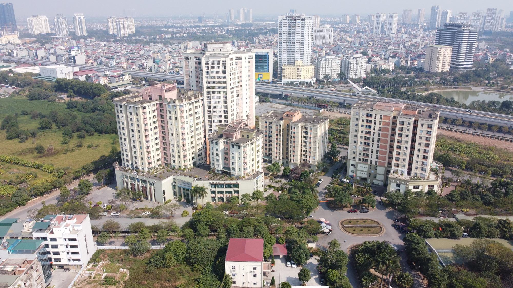 Hà Nội đang điều chỉnh quy hoạch gần 15.000 m2 đất tại KĐT Resco Cổ Nhuế - Xuân Đỉnh - Ảnh 1.