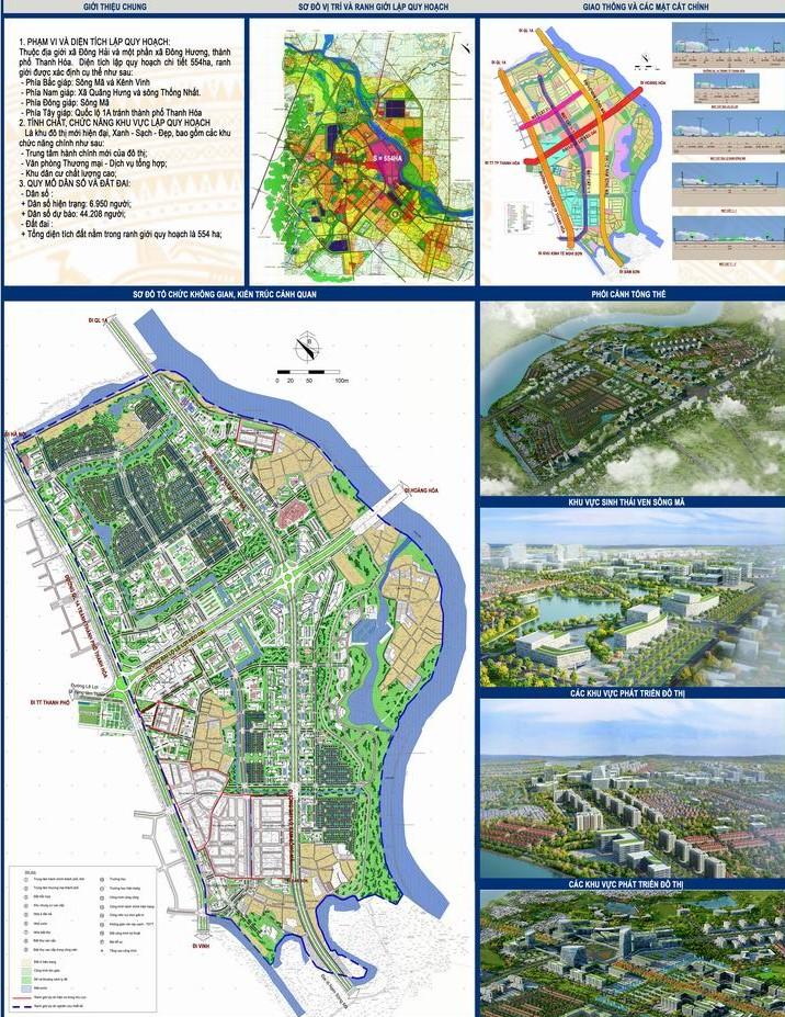 Thanh Hóa duyệt báo cáo tác động môi trường khu đô thị nghìn tỷ của liên danh Taseco - Ảnh 1.