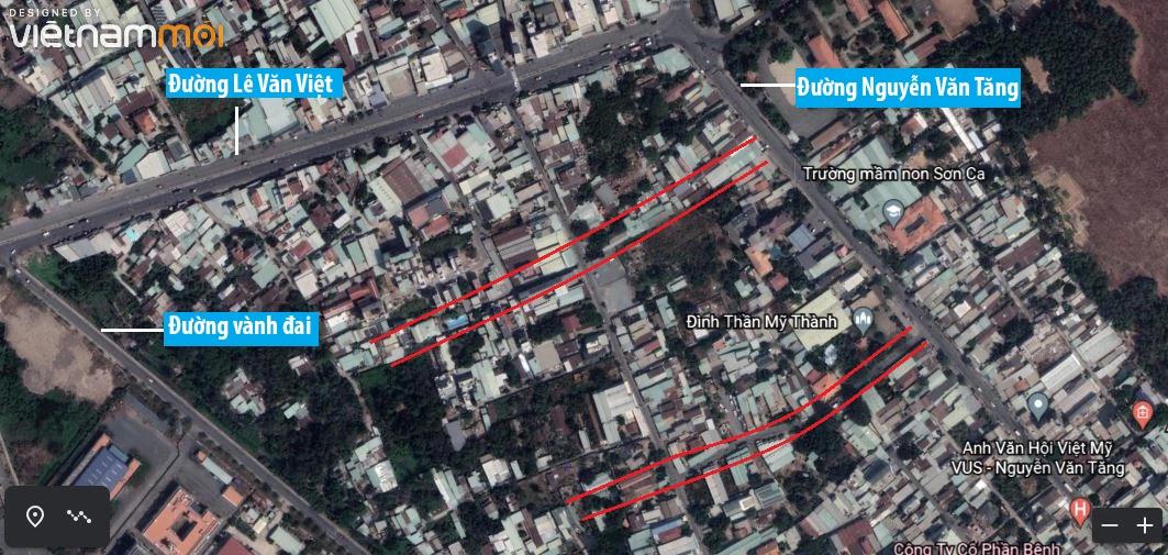 Đường sẽ mở theo quy hoạch ở phường Long Thạnh Mỹ, quận 9, Thủ Đức, TP HCM (phần 3) - Ảnh 8.
