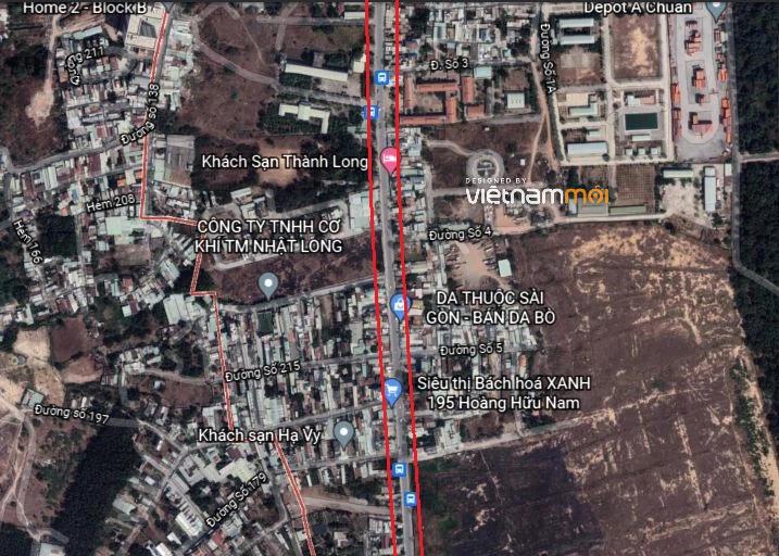 Đường sẽ mở theo quy hoạch ở phường Long Thạnh Mỹ, quận 9, Thủ Đức, TP HCM (phần 2) - Ảnh 4.