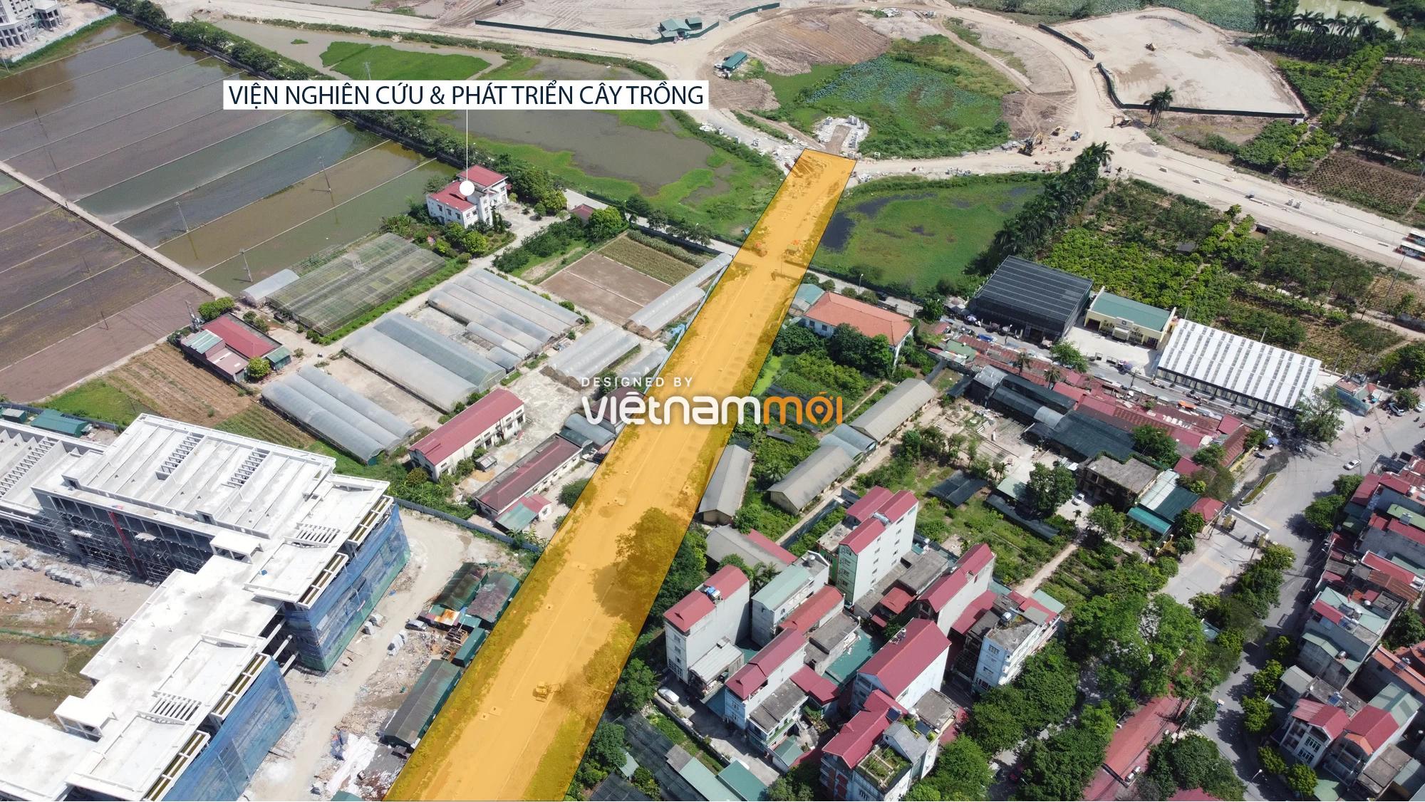 Toàn cảnh tuyến đường từ Vinhomes Ocean Park đến QL5 qua Học viện Nông nghiệp đang mở theo quy hoạch ở Hà Nội - Ảnh 6.