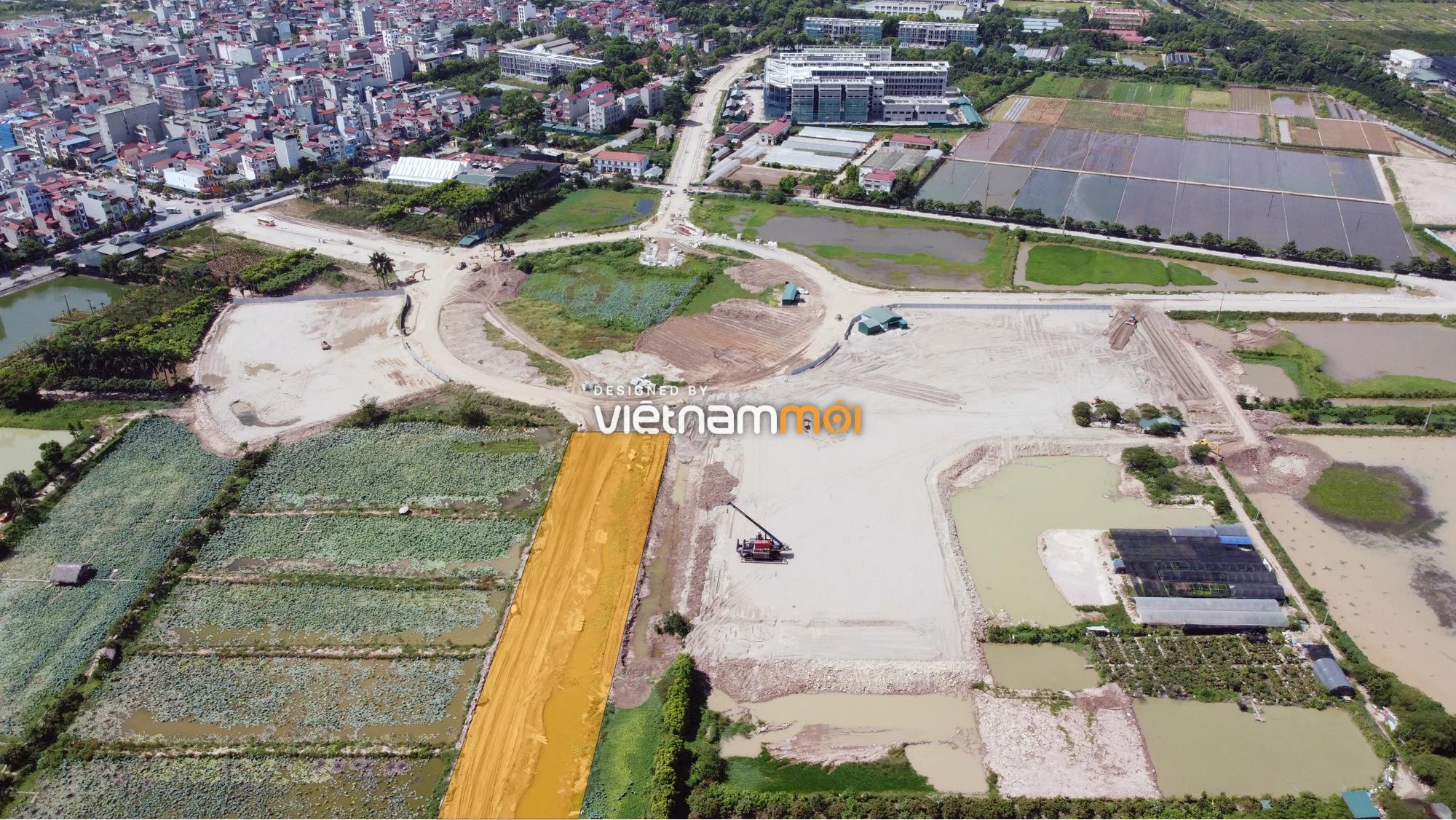 Toàn cảnh tuyến đường từ Vinhomes Ocean Park đến QL5 qua Học viện Nông nghiệp đang mở theo quy hoạch ở Hà Nội - Ảnh 8.
