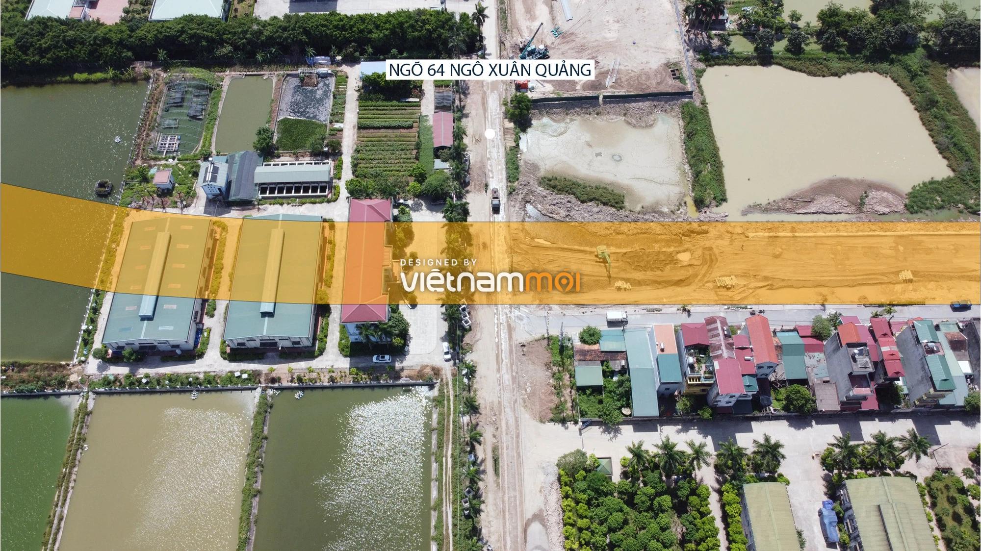 Toàn cảnh tuyến đường từ Vinhomes Ocean Park đến QL5 qua Học viện Nông nghiệp đang mở theo quy hoạch ở Hà Nội - Ảnh 14.