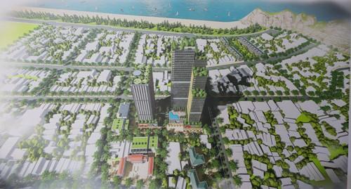 Thanh Hóa: Sẽ khởi công dự án Khu dân cư đô thị và TTTM Sầm Sơn cao 50 tầng vào quý IV năm nay - Ảnh 1.