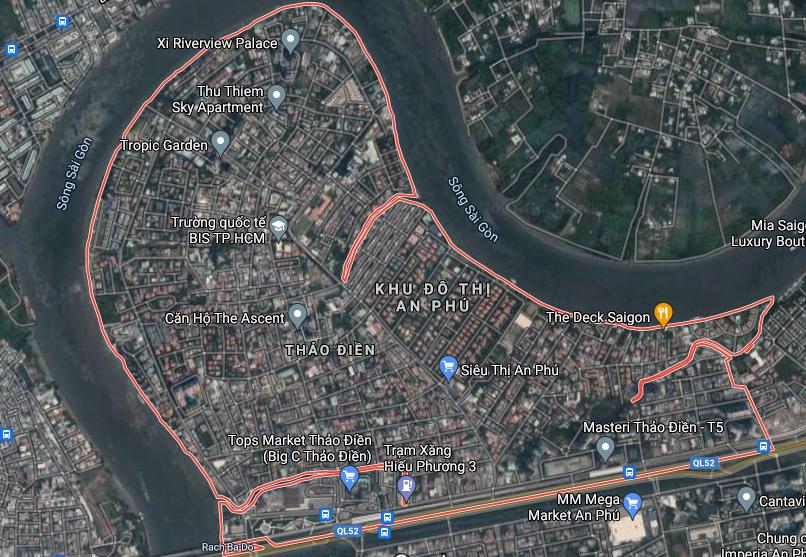 Kế hoạch sử dụng đất phường Thảo Điền, quận 2, TP Thủ Đức - Ảnh 1.