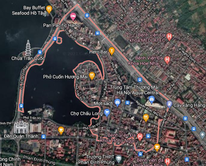 Bản đồ quy hoạch sử dụng đất phường Trúc Bạch, Ba Đình, Hà Nội - Ảnh 1.